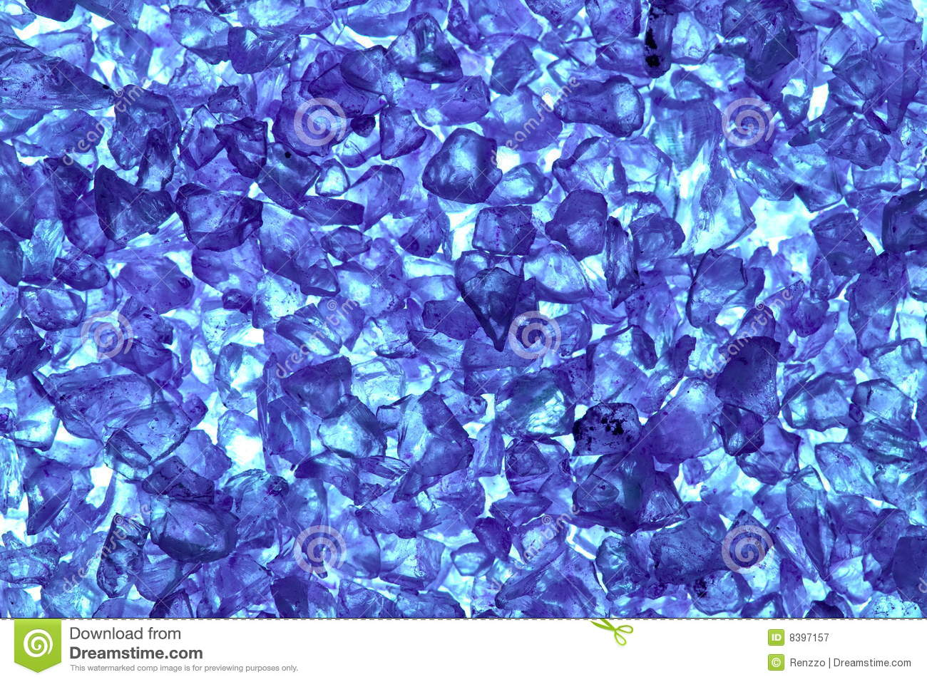 Recycled Blue Glass Pellets Royalty Free Stock Photography ... - photo#32