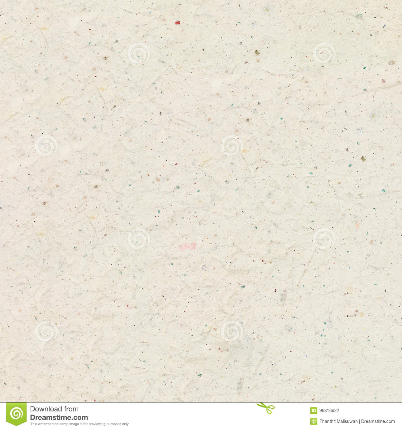 Recycled Crumpled Light Brown Paper Texture Background For Design