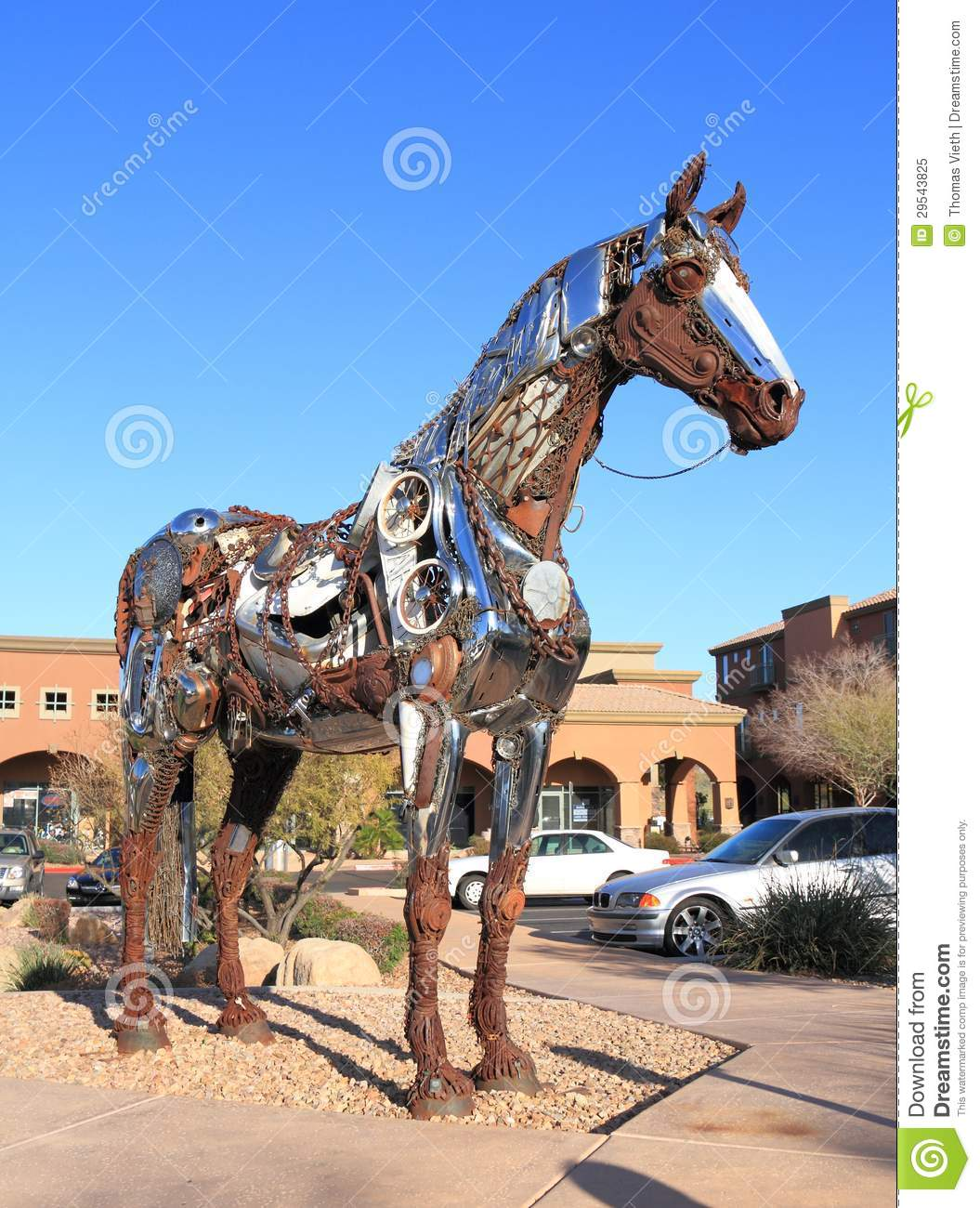 Usa Arizona Fountain Hills Scrap Metal Art Or Recycled Horse Editorial Image Image Of Horse Recycling 29543825