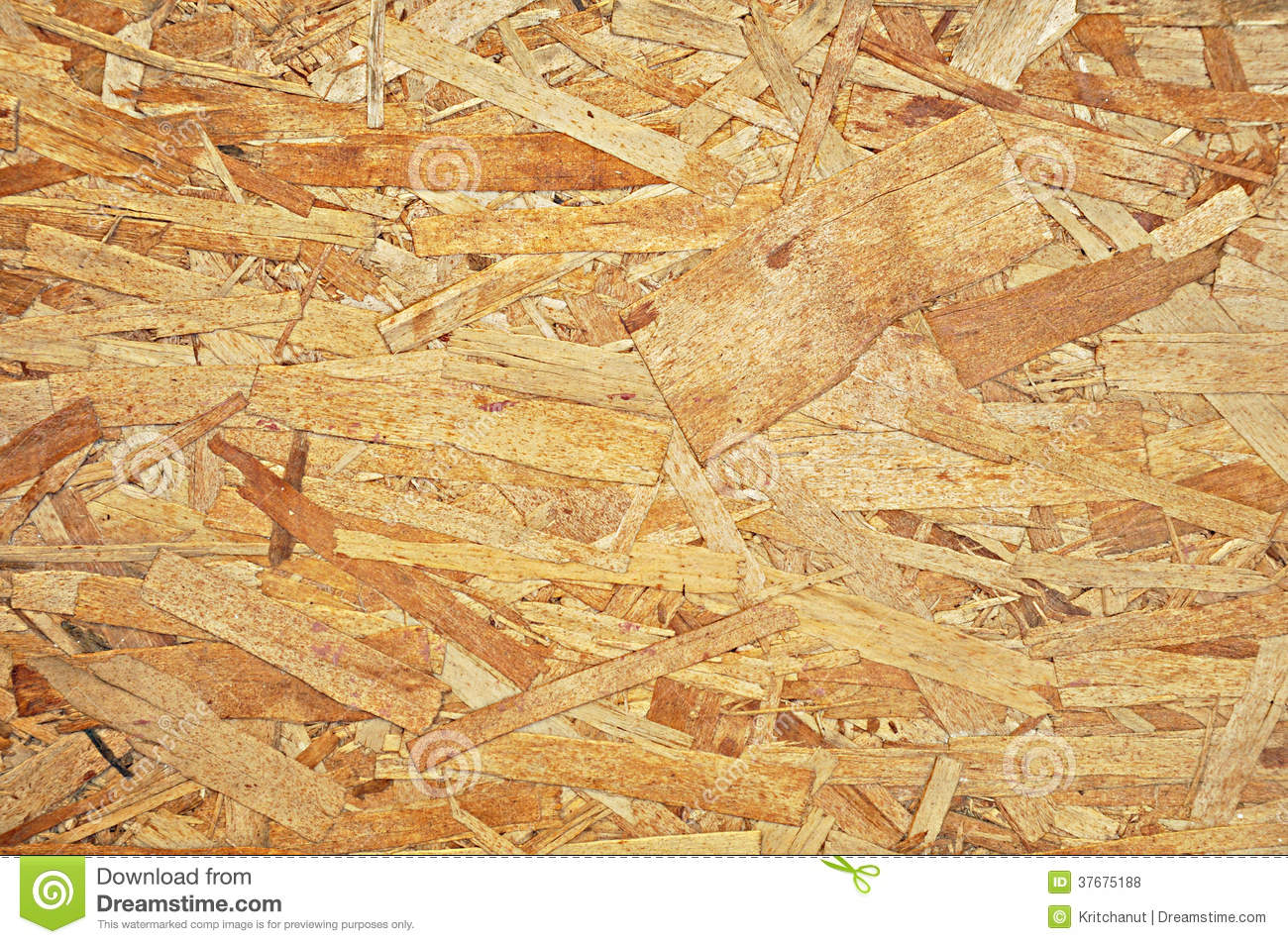 Recycled Plywood Board Texture As Background Royalty Free
