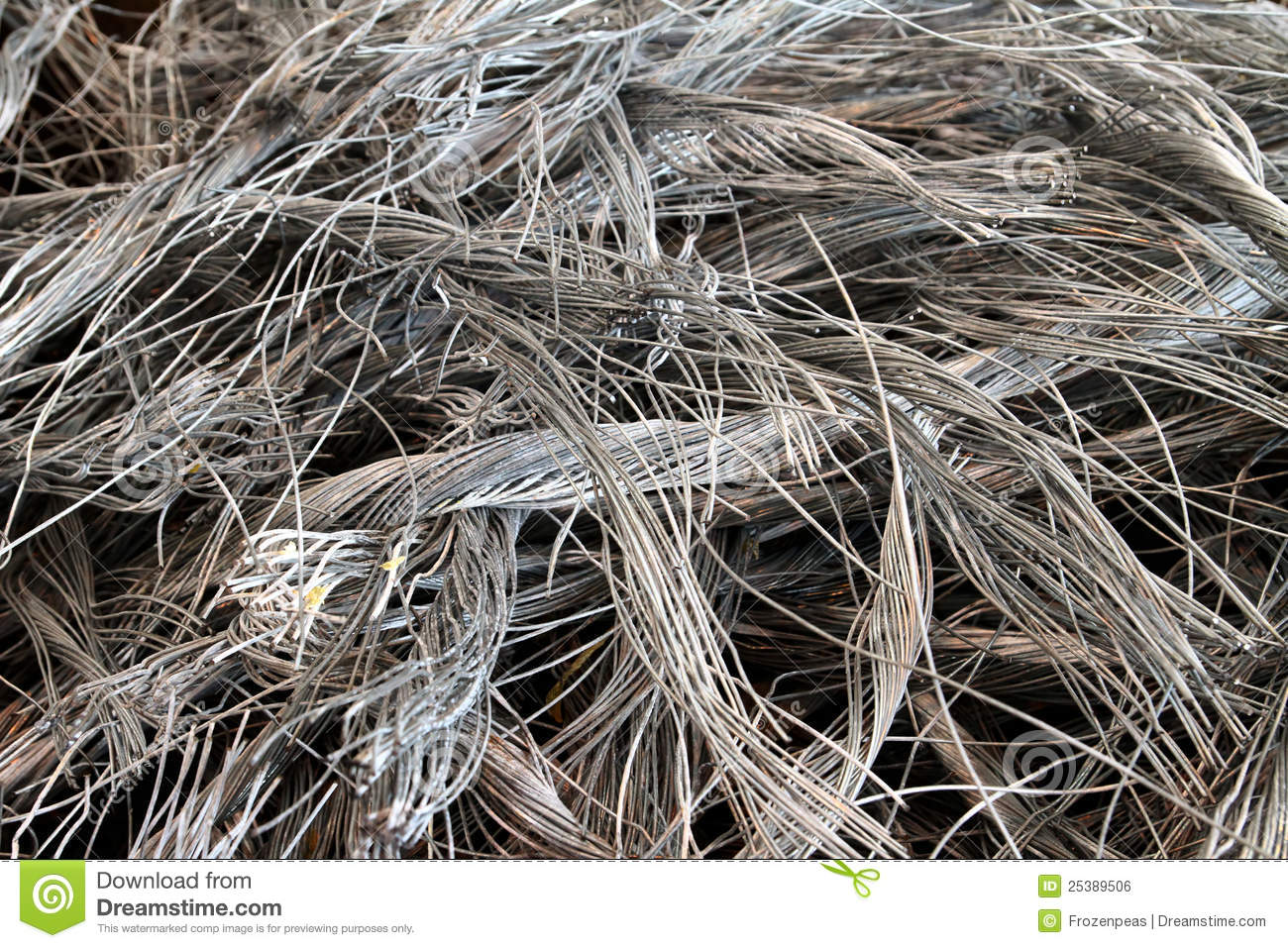 Recycled Wire stock photo. Image of recycling, stripped - 25389506