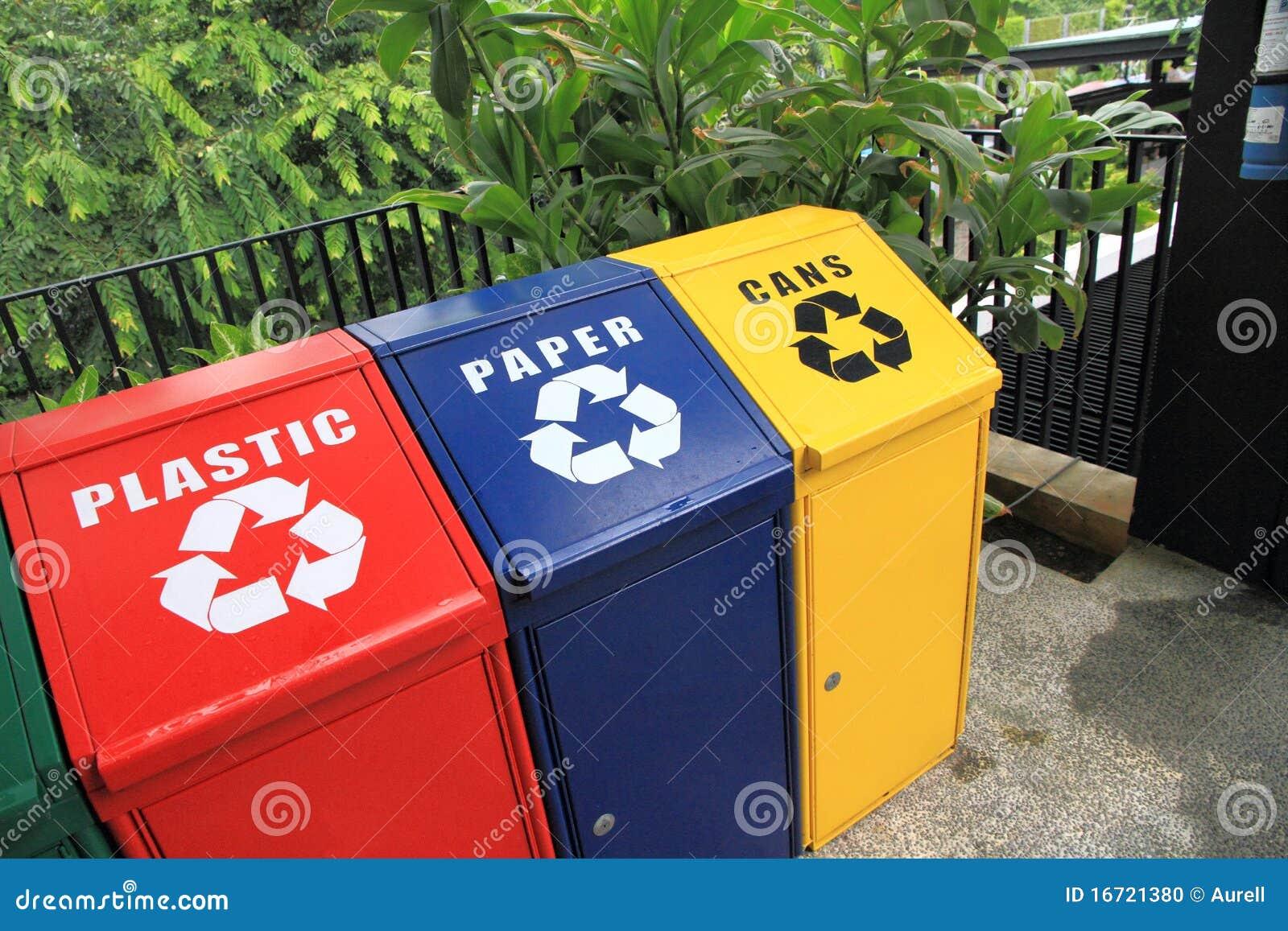 Recycleer bakken