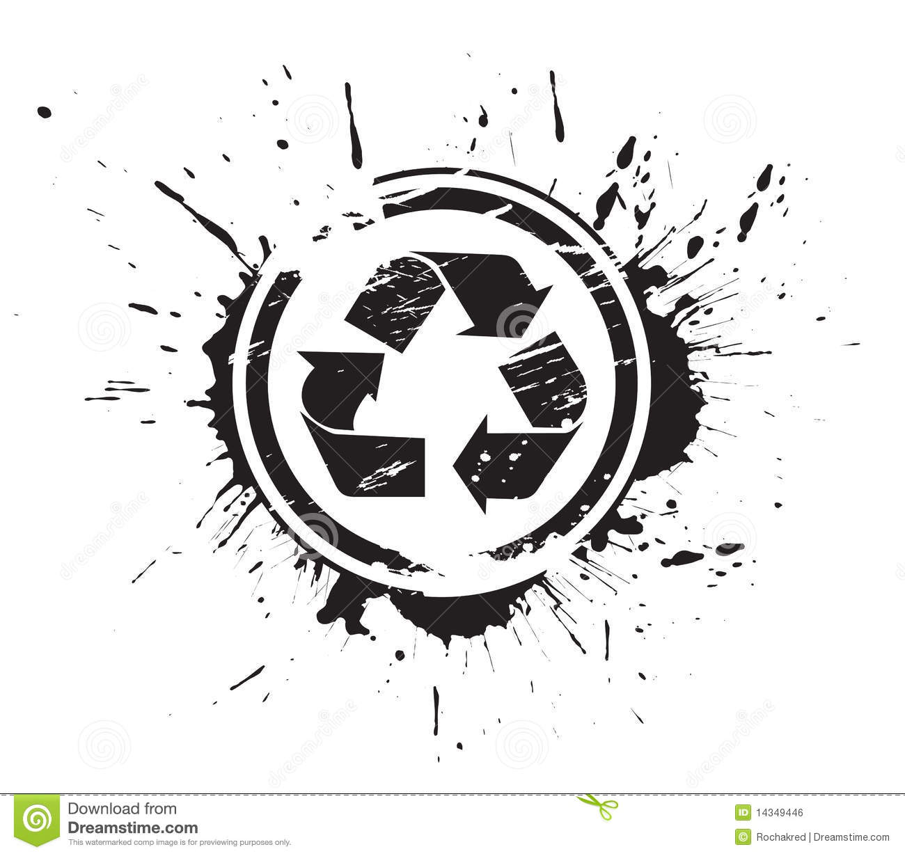 Recycleer pictogram