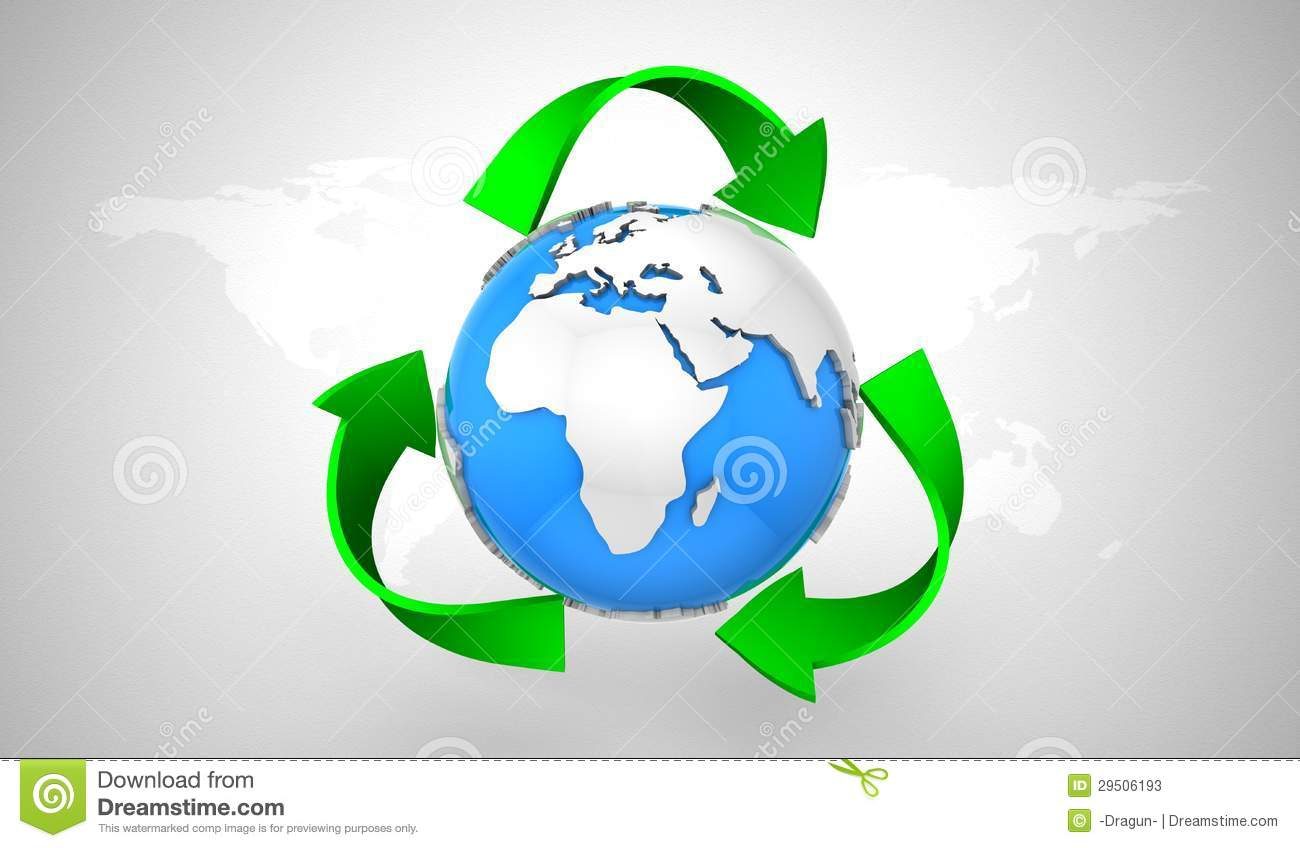 Recyclerend Symbool