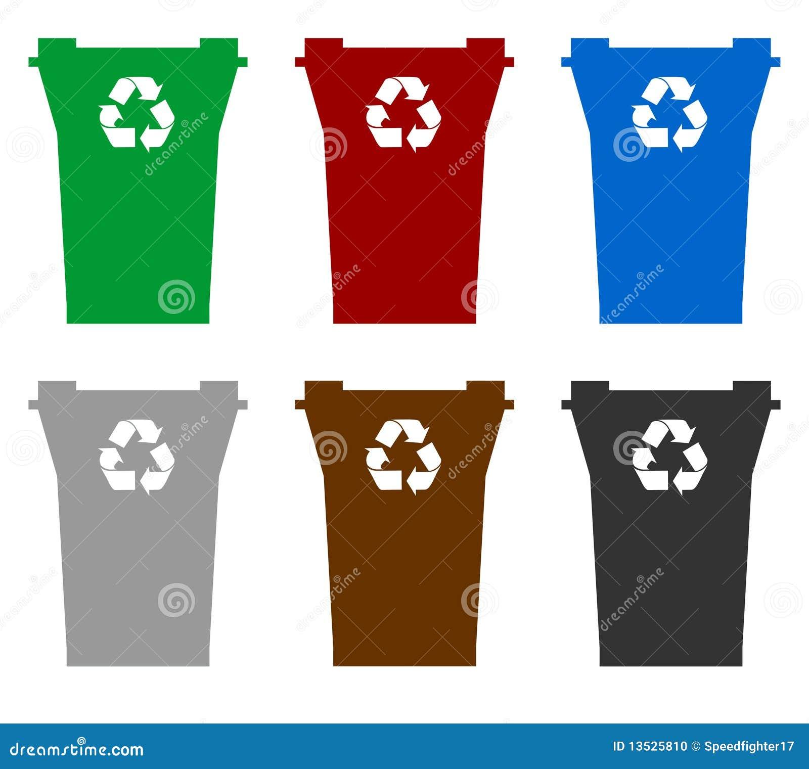 Recyclerende bakken