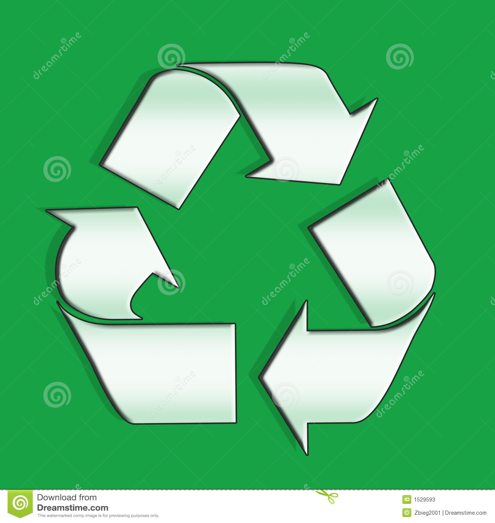 Recyclerende pijlen