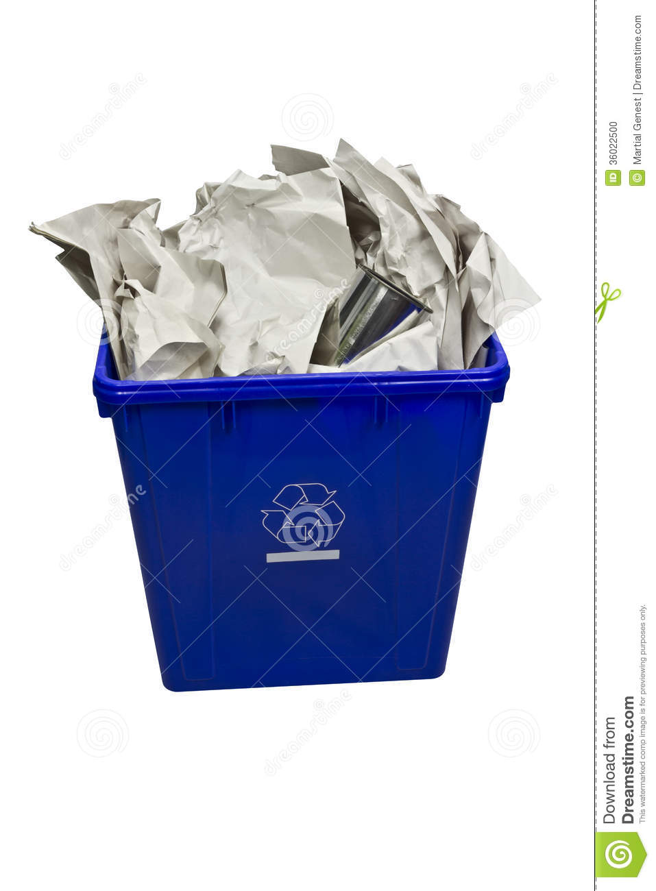 Recycling Stock Photo Image 36022500