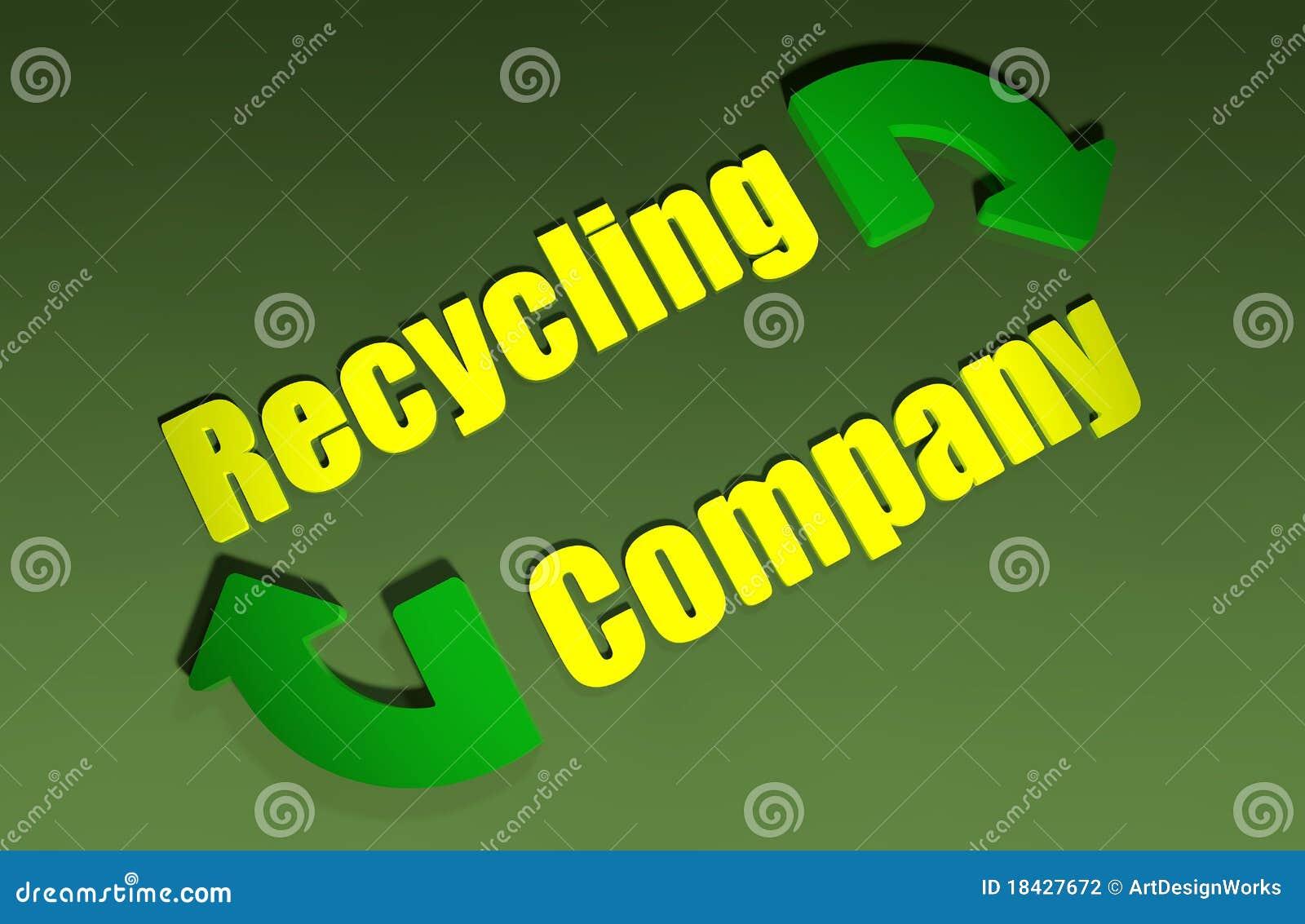 Recycling company design