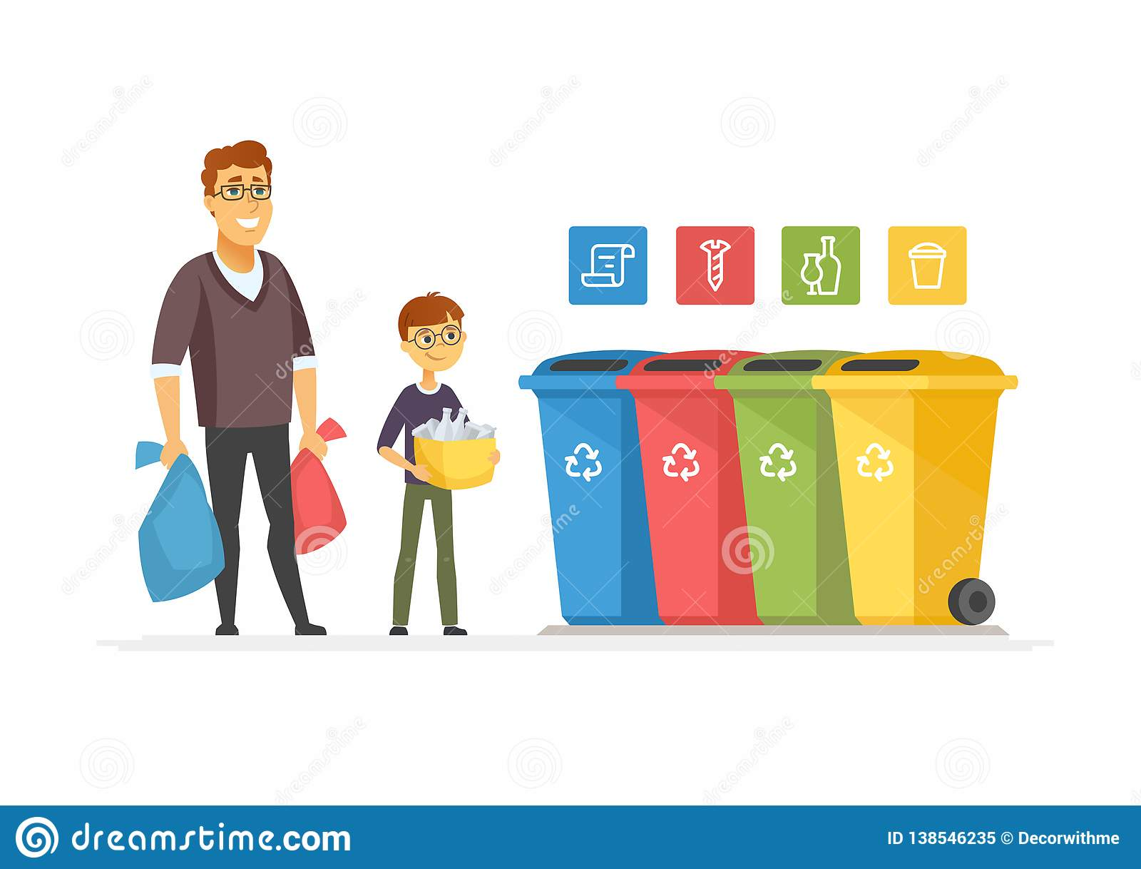 Picture3 - Take Out Trash Cartoon - Free Transparent PNG Clipart Images  Download