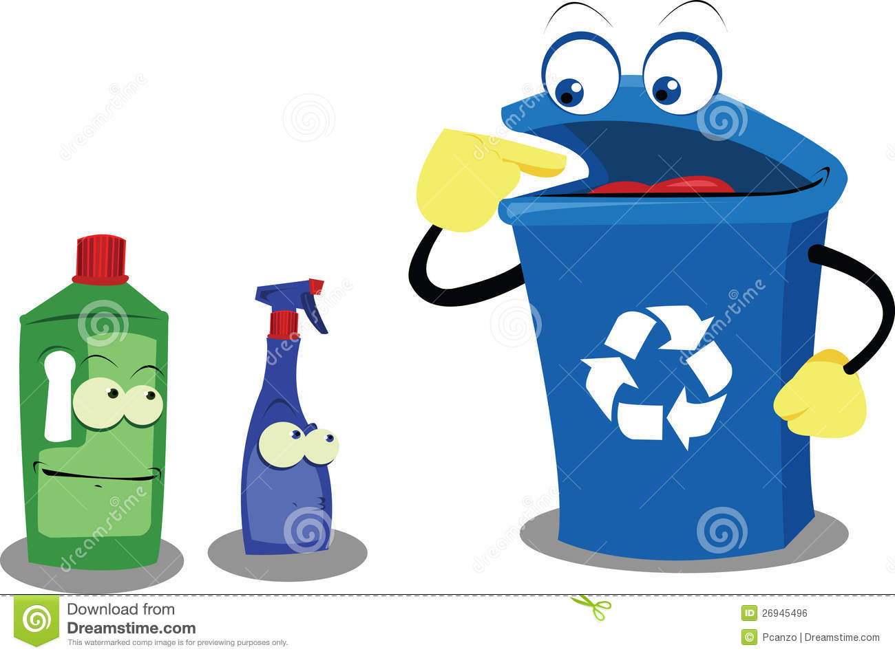 Recycling Plastic Royalty Free Stock Image - Image: 26945496