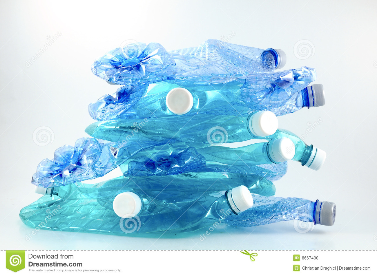 Recycling Plastic Stock Photo Image Of Garbage Save