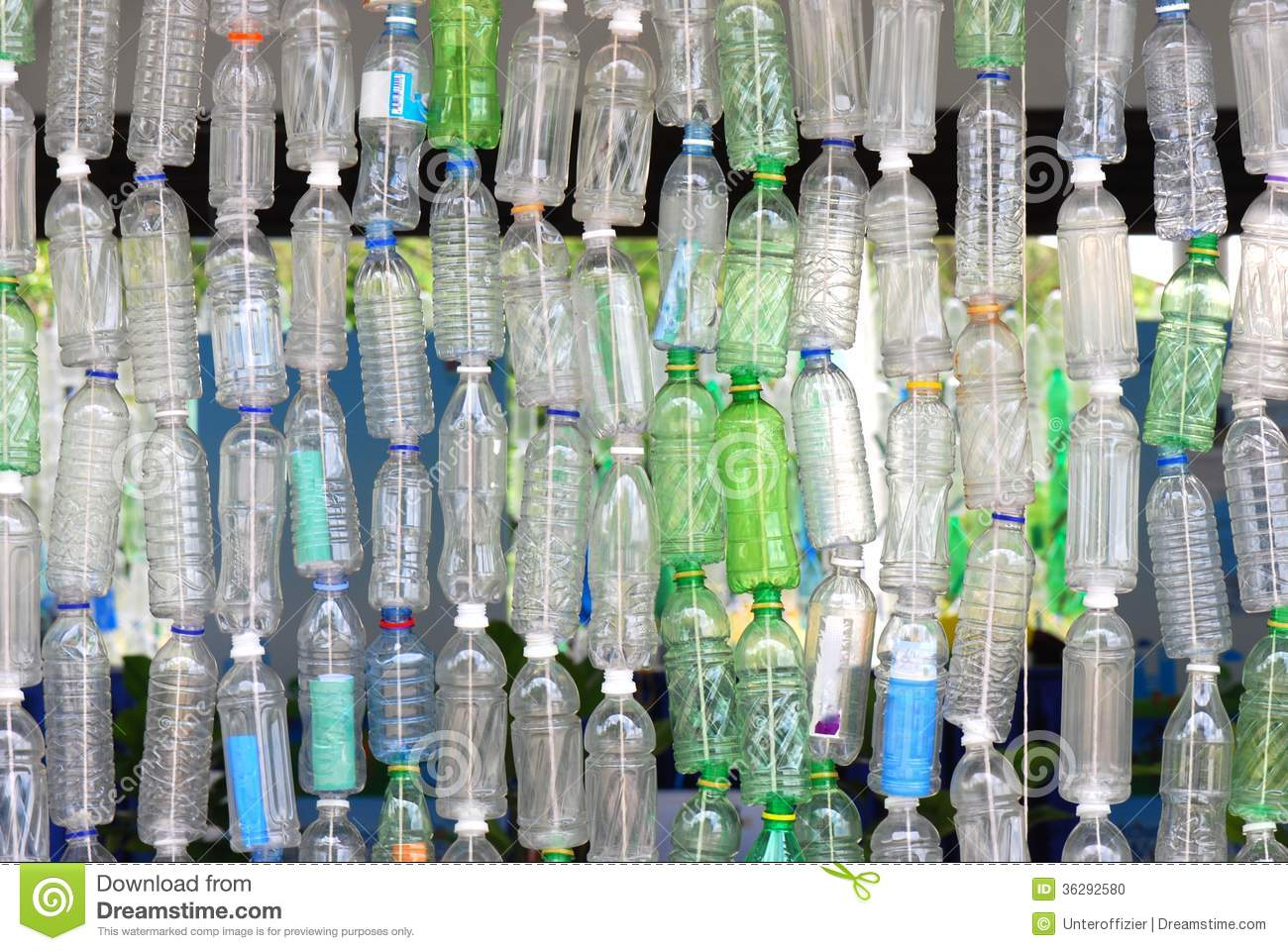 Image gallery recycling bottles for Decoration with waste bottles