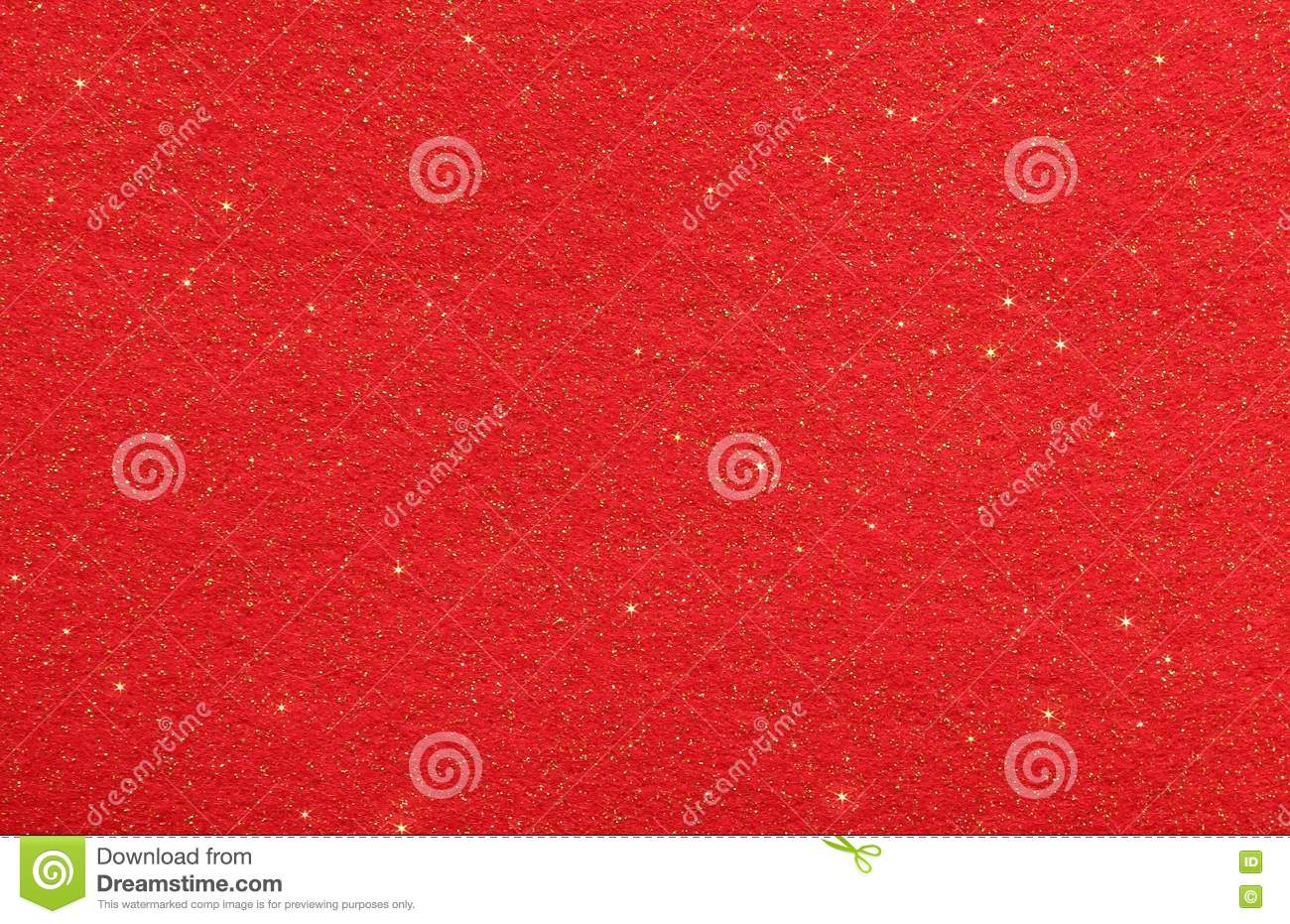 Red abstract background with glittering stars