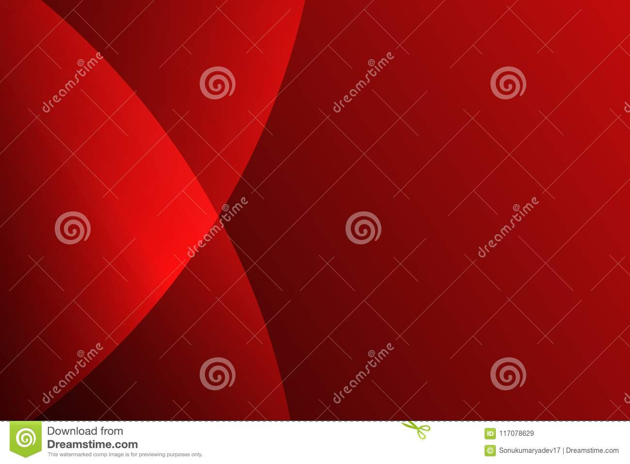 Red Abstract Black 3 D Round Background Color Shading Vector