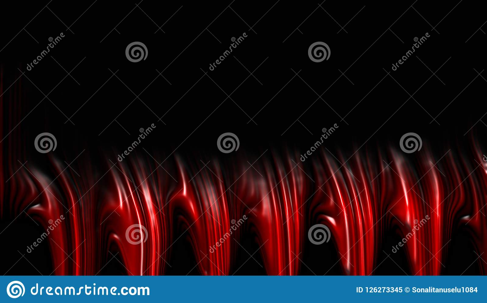 Red blur abstract background.