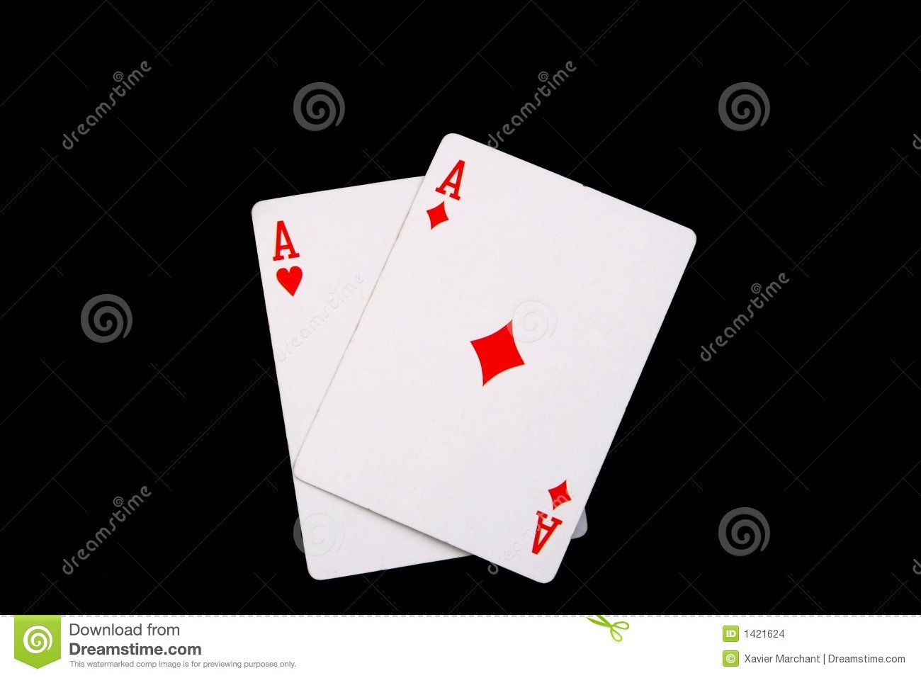 Red Aces Stock Images Image 1421624