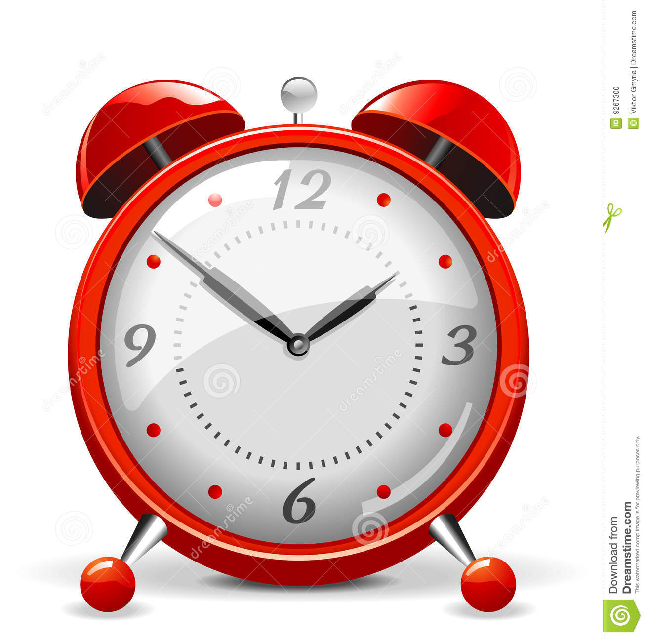 red alarm clock stock vector illustration of close clip art clock in clip art clocks with numbers