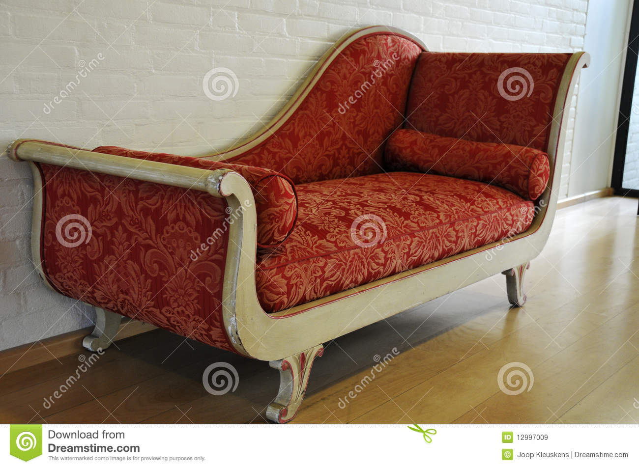 Red Antique Sofa Royalty Free Stock Images Image 12997009