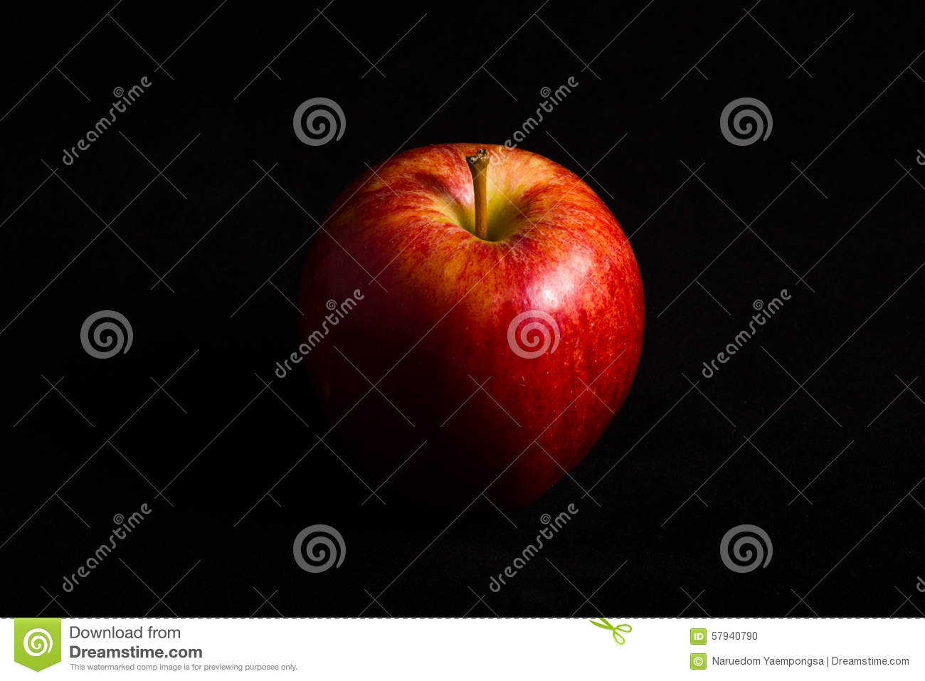 Free photo Red Flash Apple Black - Max Pixel