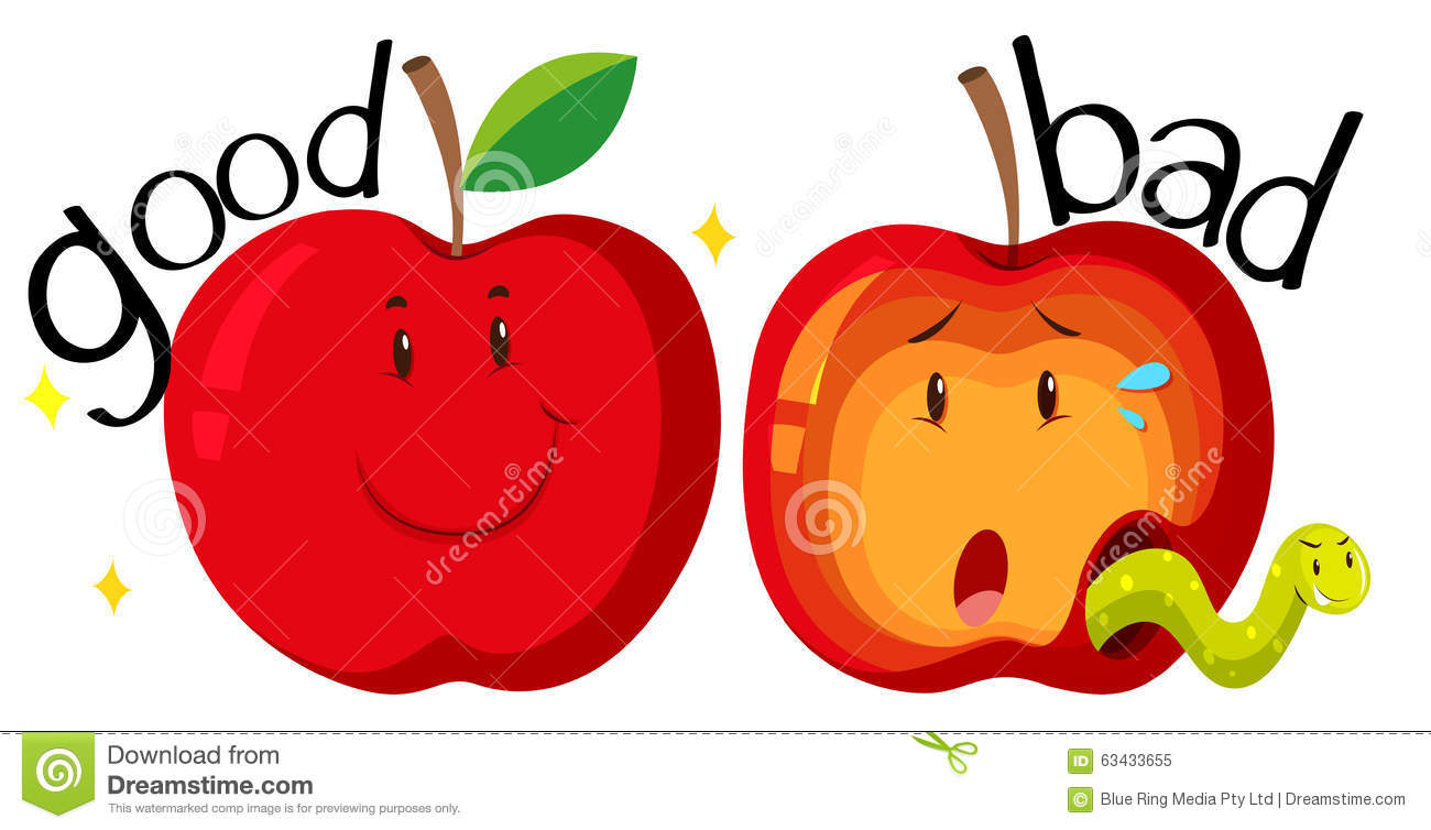 red apples in good and bad condition stock vector image travel clip art images png travel clip art stamp