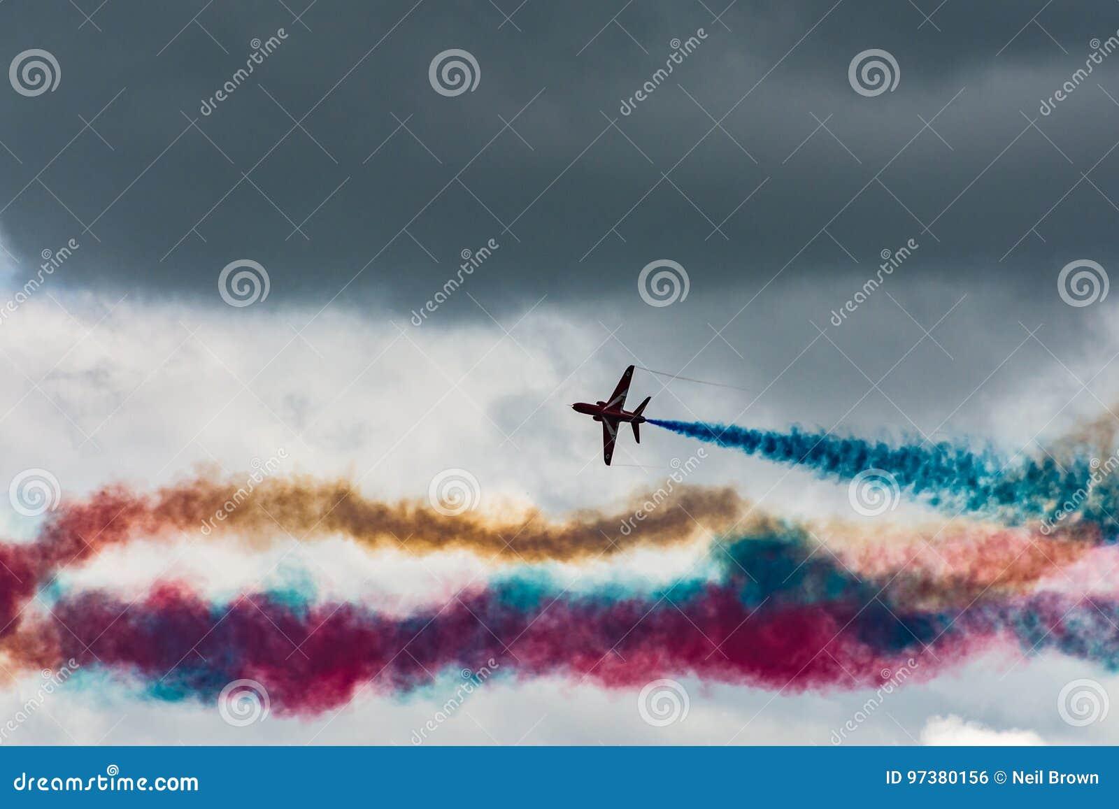 Red parachute stock image. Image of flight, landing, fall