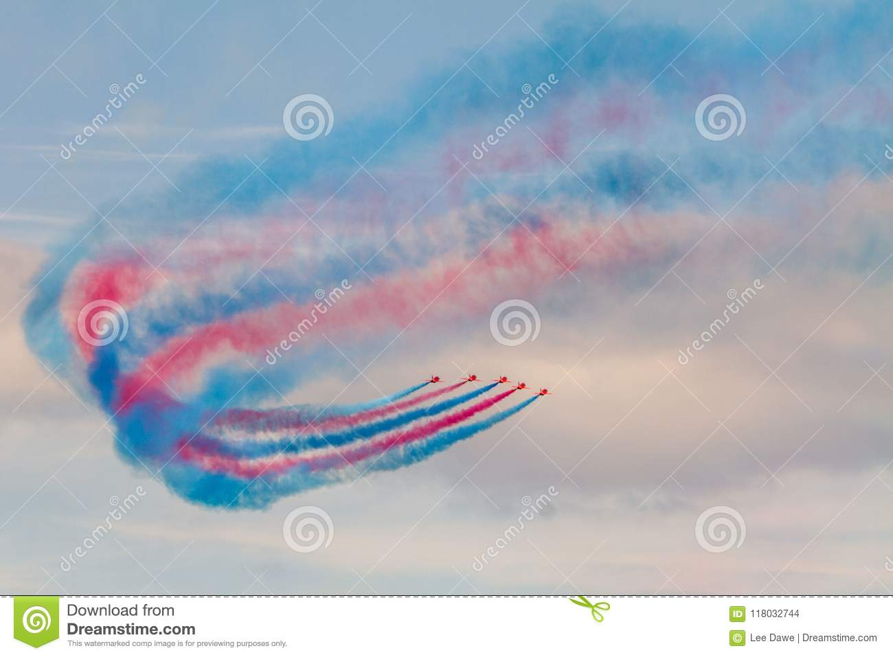 The Red Arrows, Torbay airshow 2018