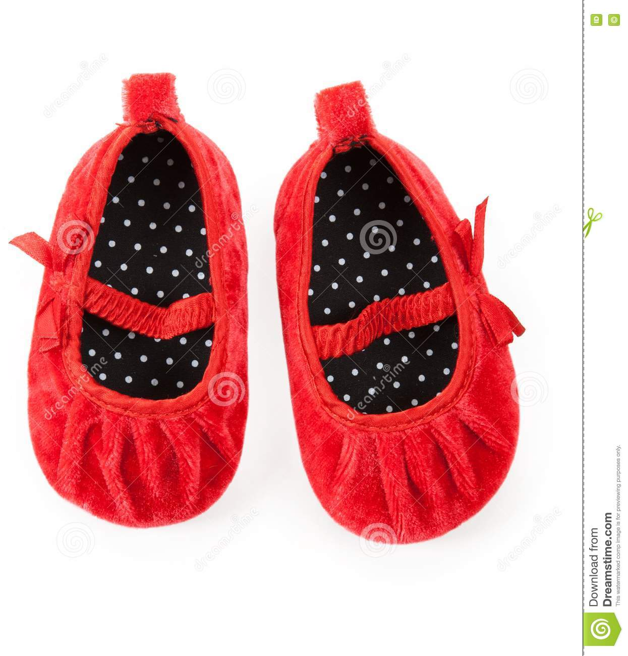 Red Baby Booties Royalty Free Stock s Image