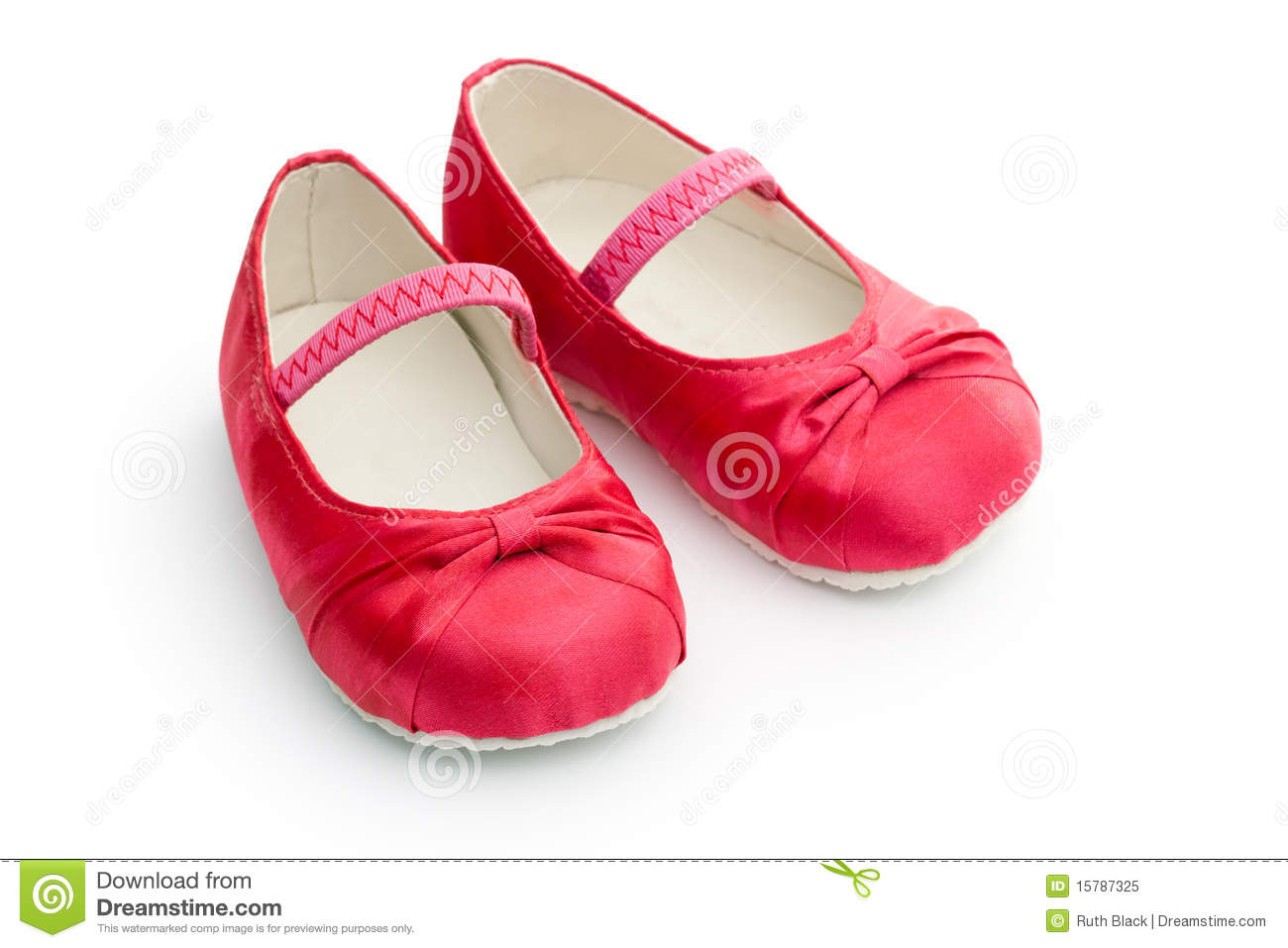 Red Baby Shoes Royalty Free Stock Photo - Image: 15787325