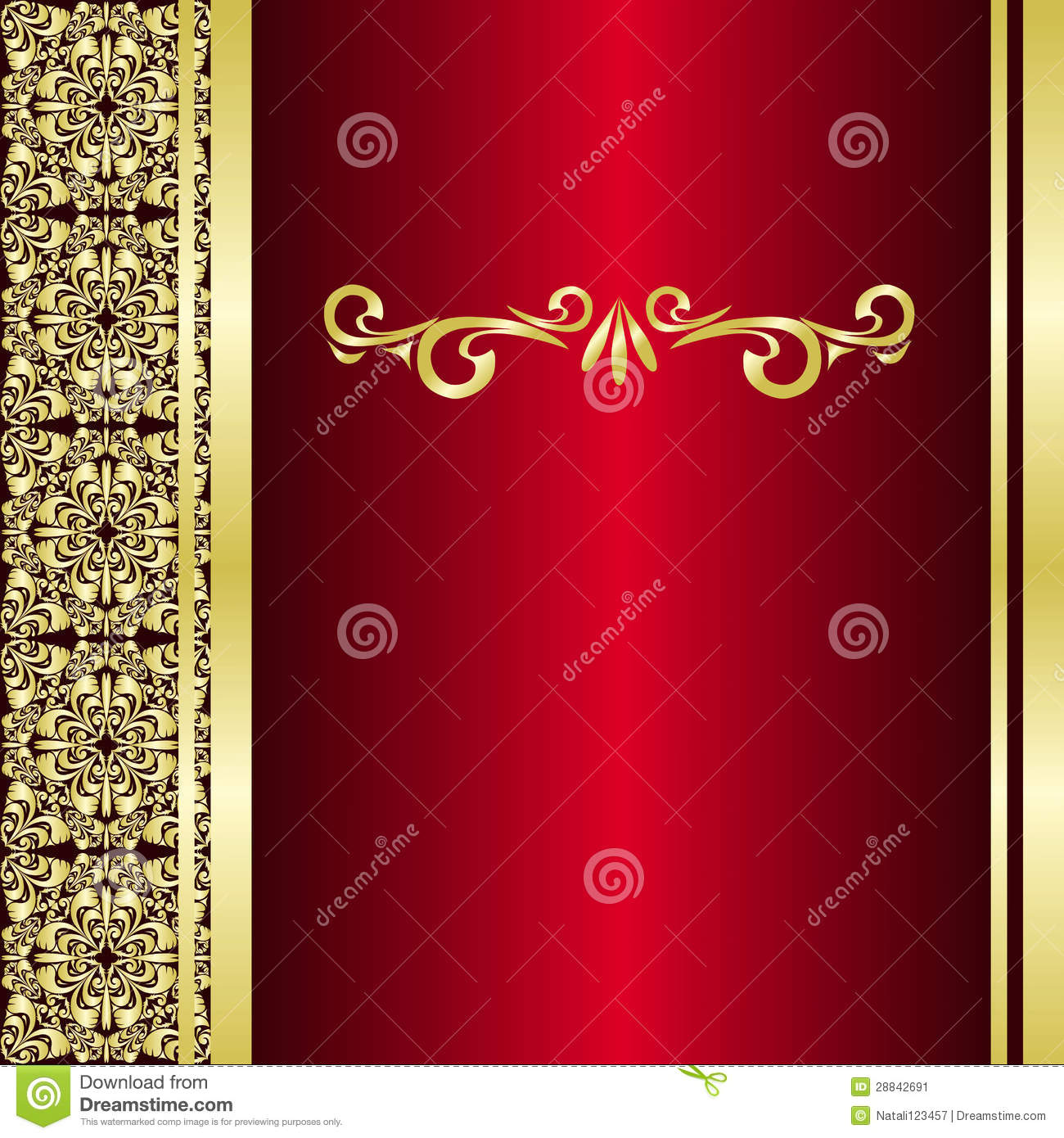 red golden background - photo #21