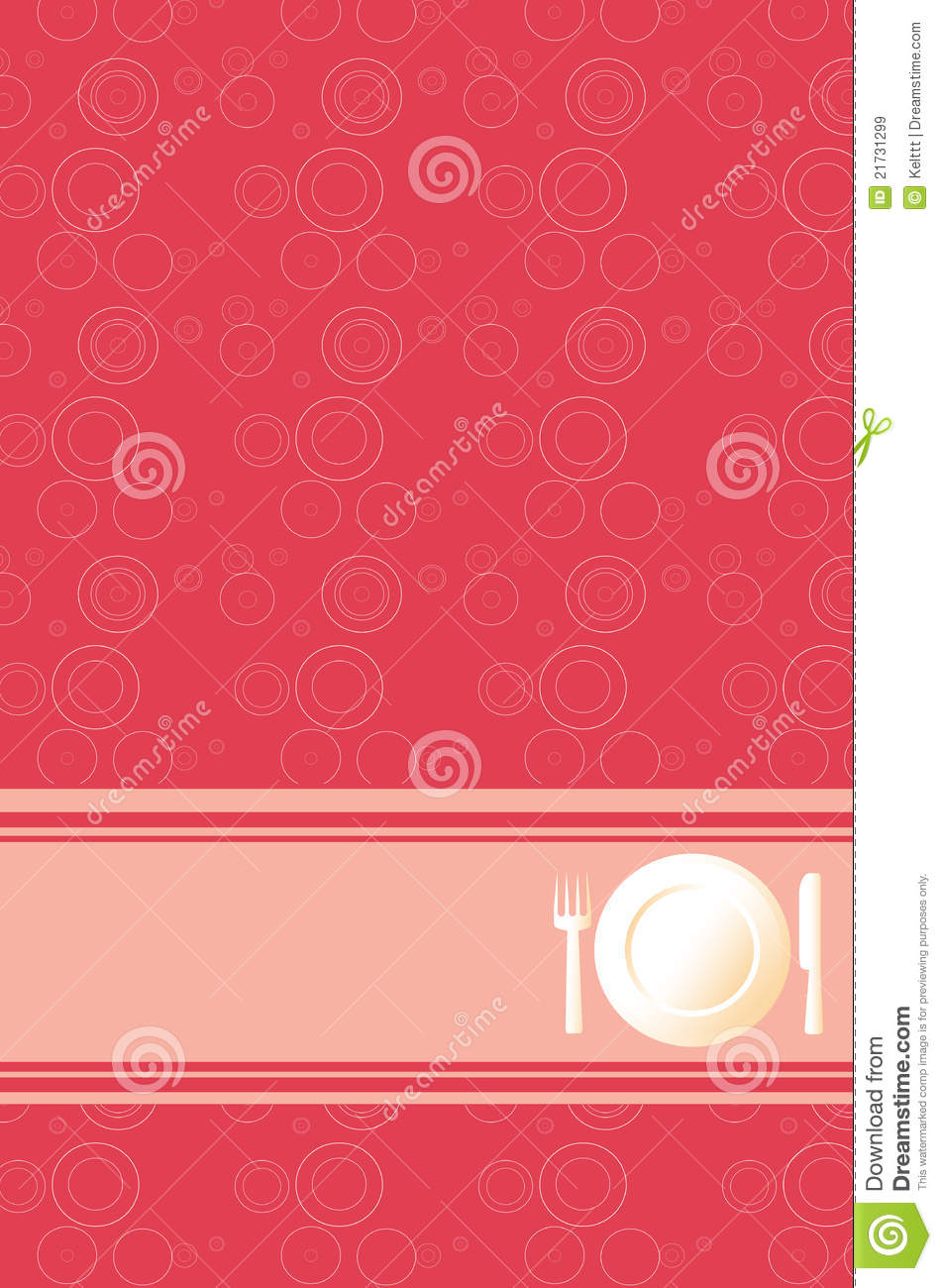 Red Background For Din...