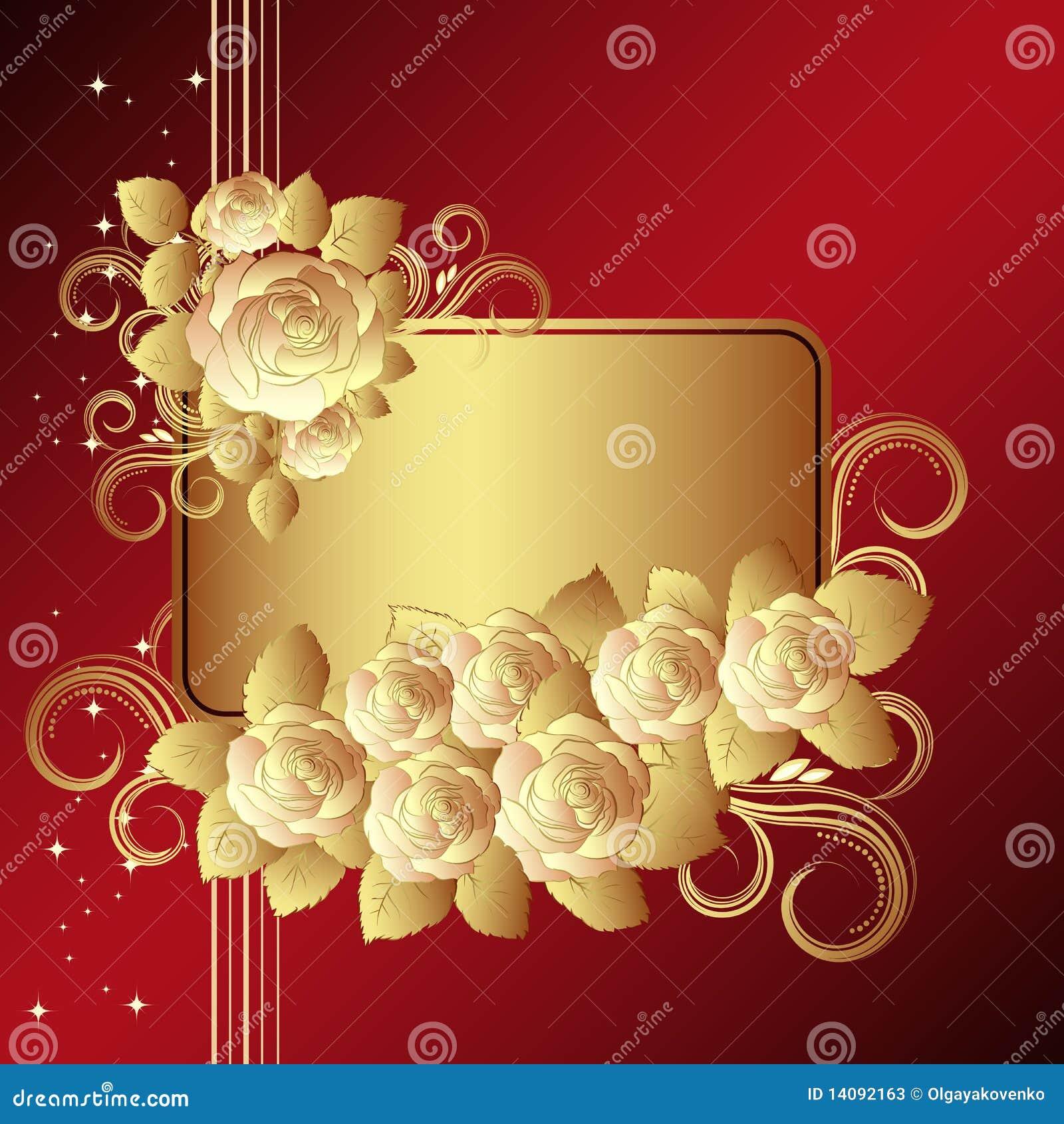 Gold Rose Flower Long Stem Goldene getauchte Blumen Liebhaber best B8S7