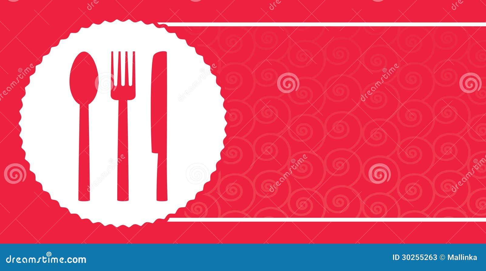 background for restaurant menu stock vector