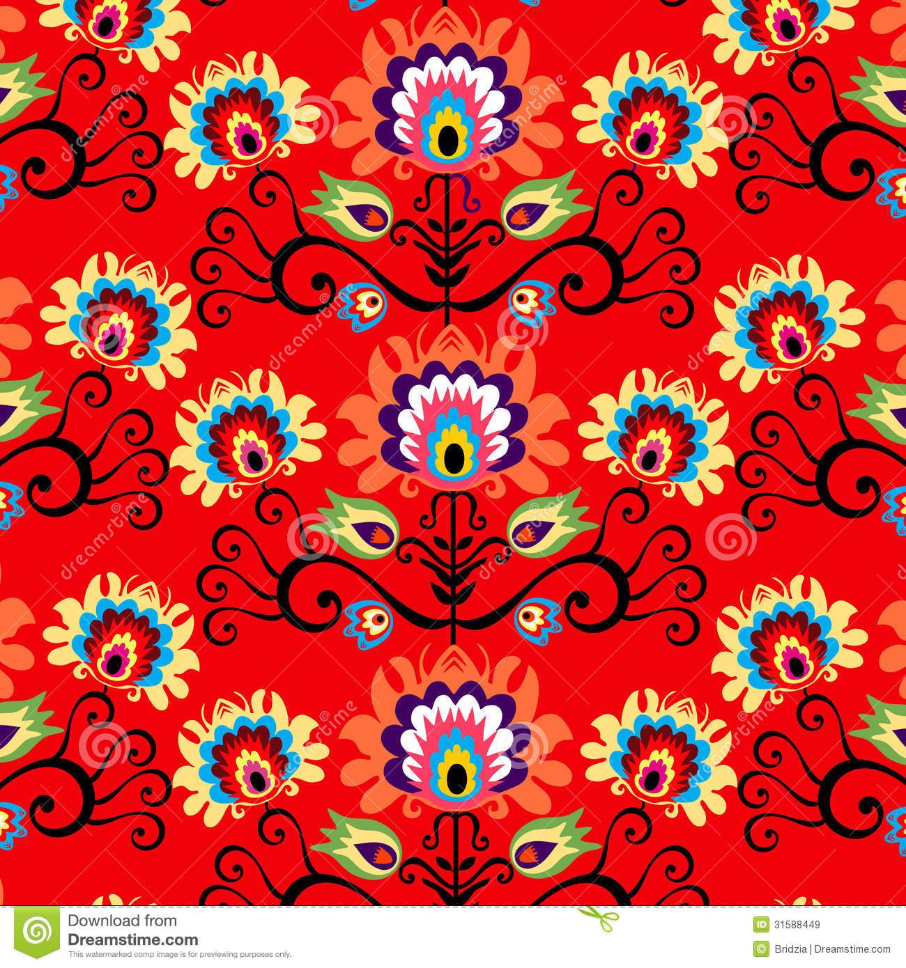 Red Background Royalty Free Stock Images - Image: 31588449: dreamstime.com/royalty-free-stock-images-red-background-polish-folk...