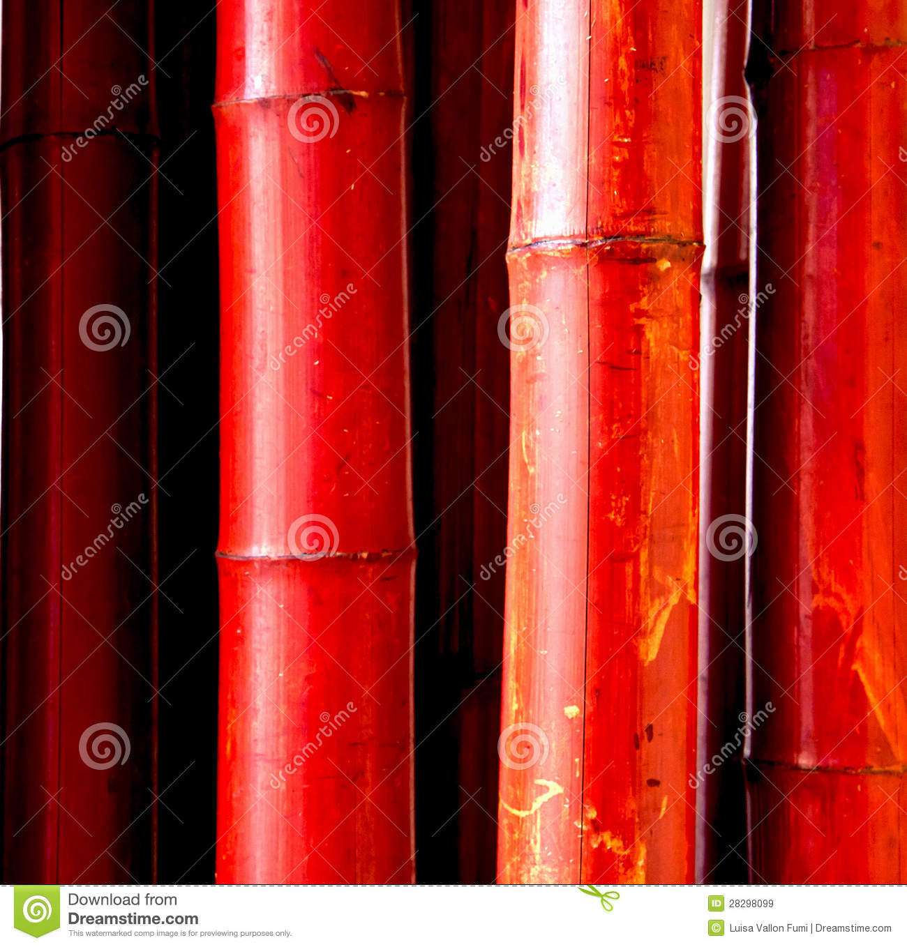 Red Bamboo Royalty Free Stock Images Image 28298099