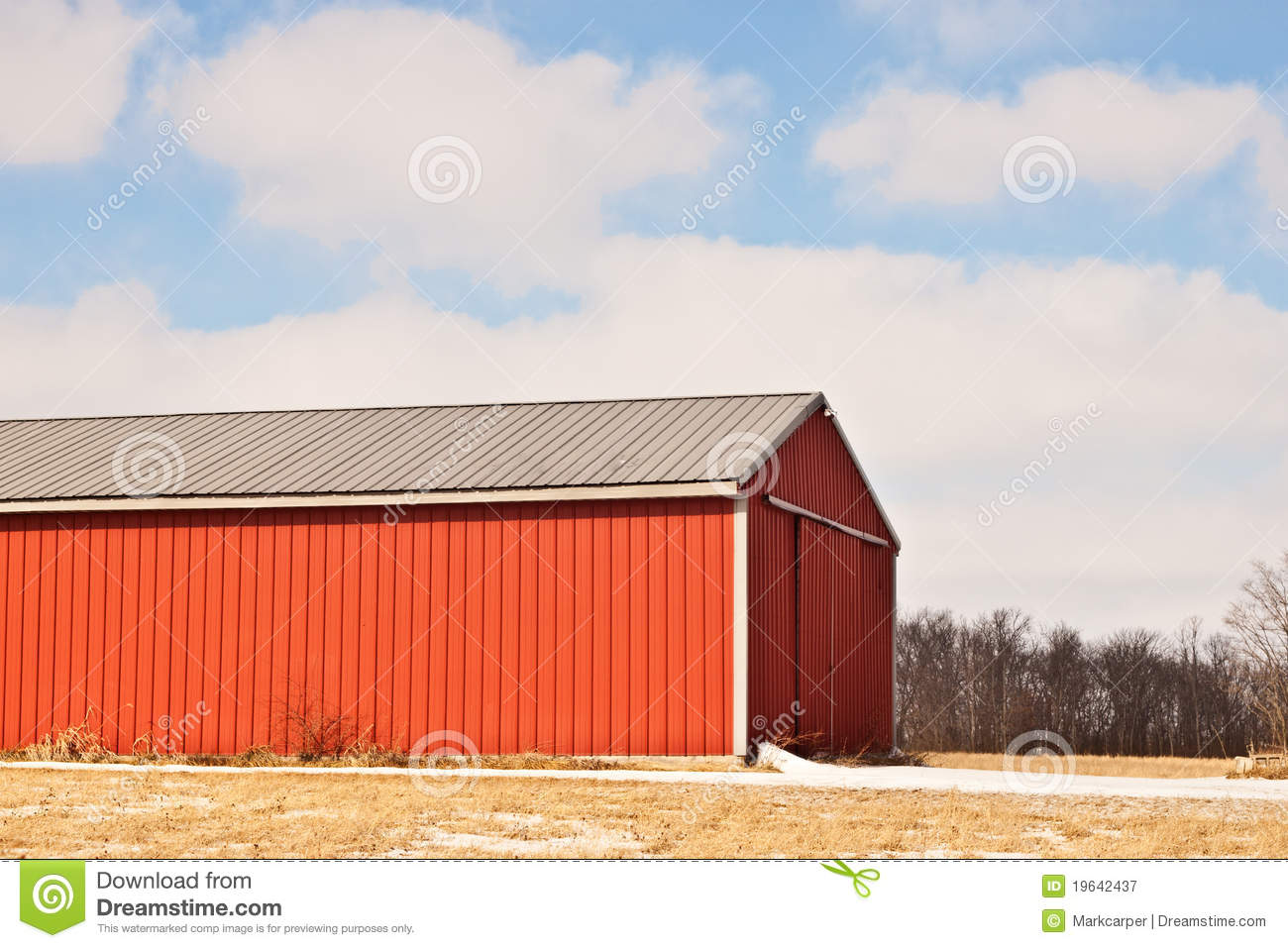 Red Barn Siding Royalty Free Stock Photography Image