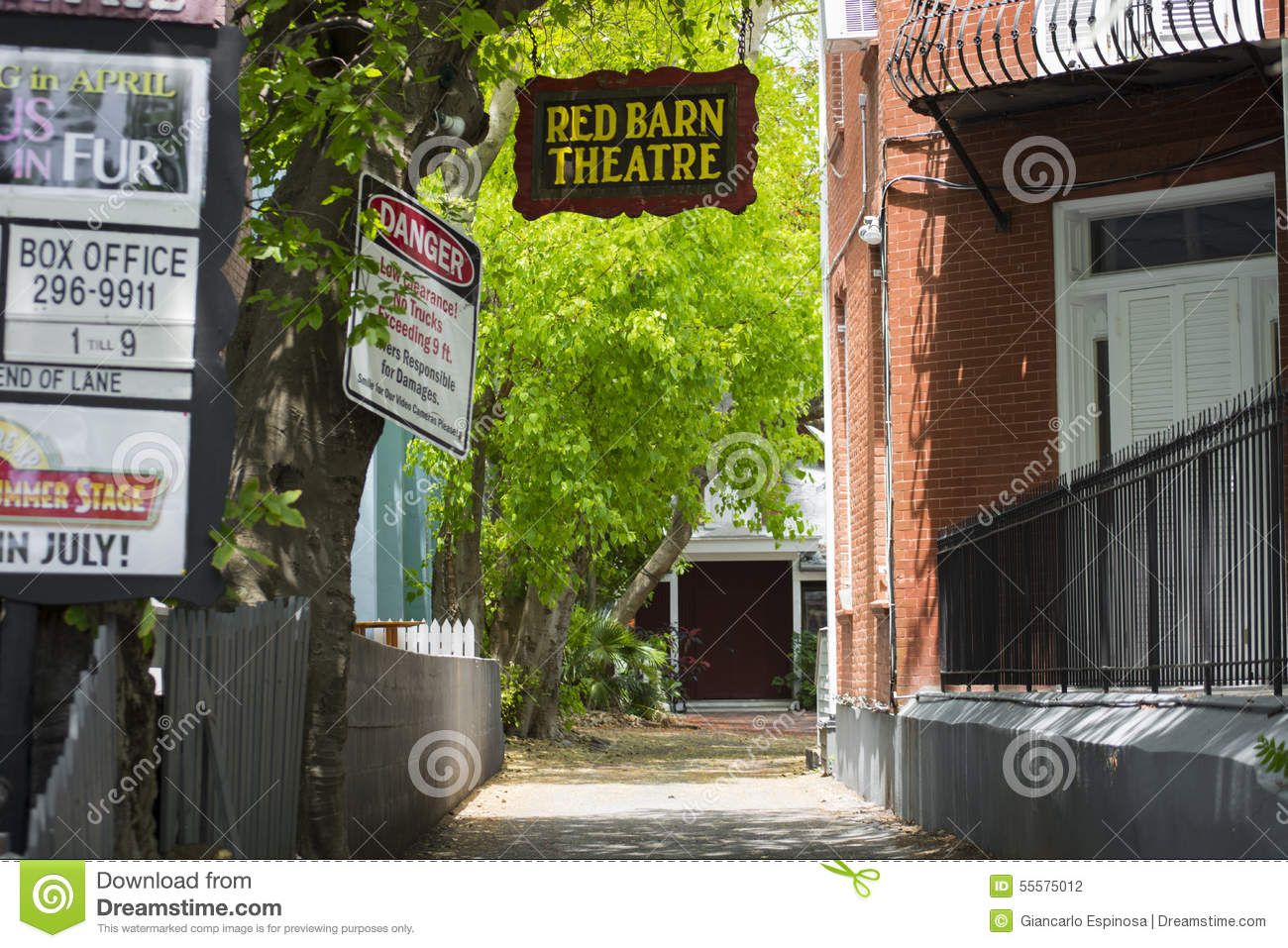 Red Barn Theatre Editorial Photography Image Of Entrance