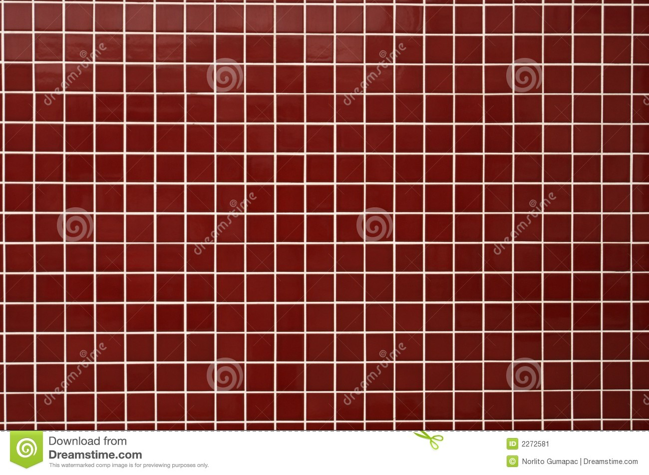Red bath tiles stock image. image of texture tileable 2272581