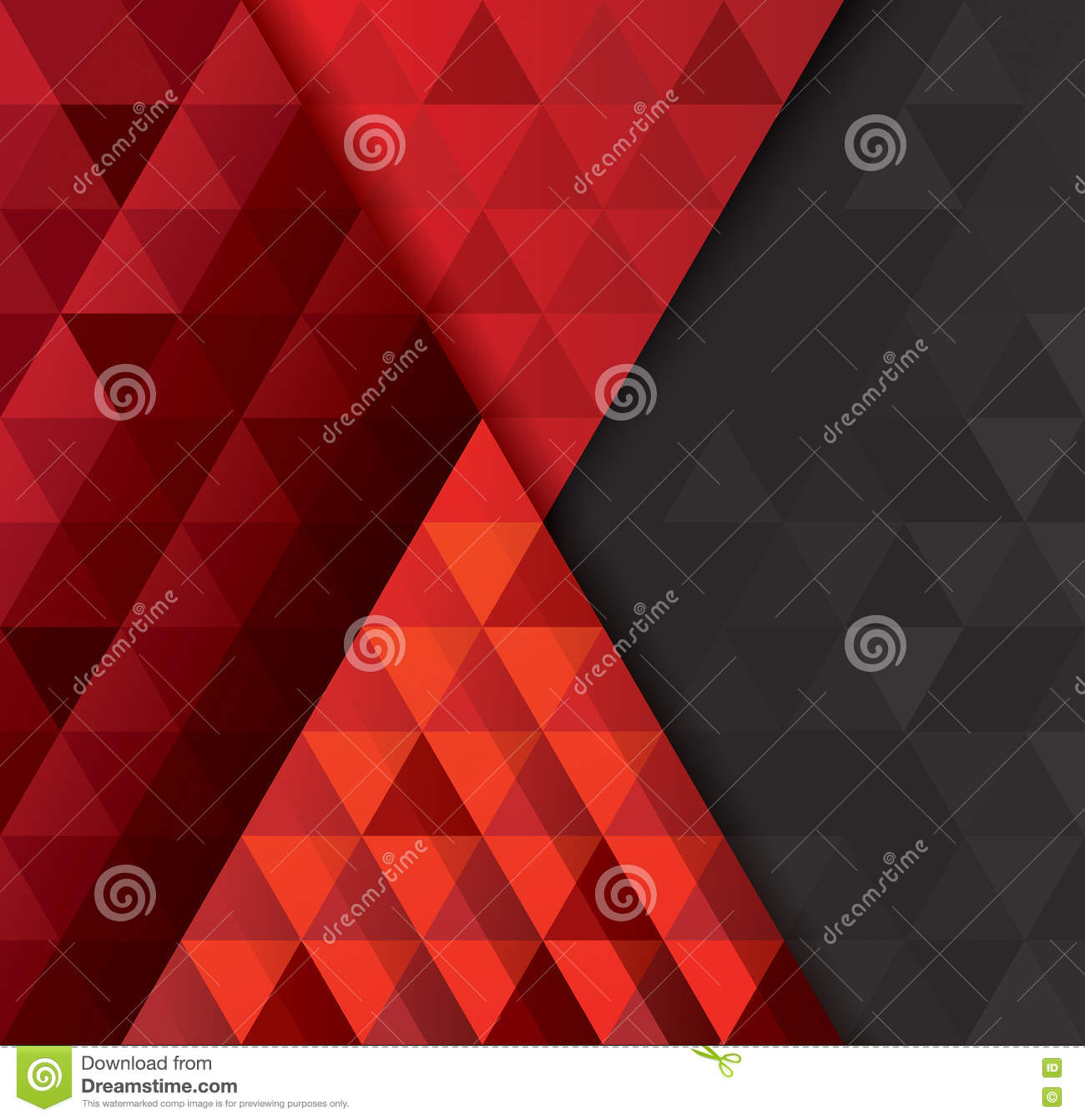 Book Cover Background Xbox : Red and black abstract background vector stock