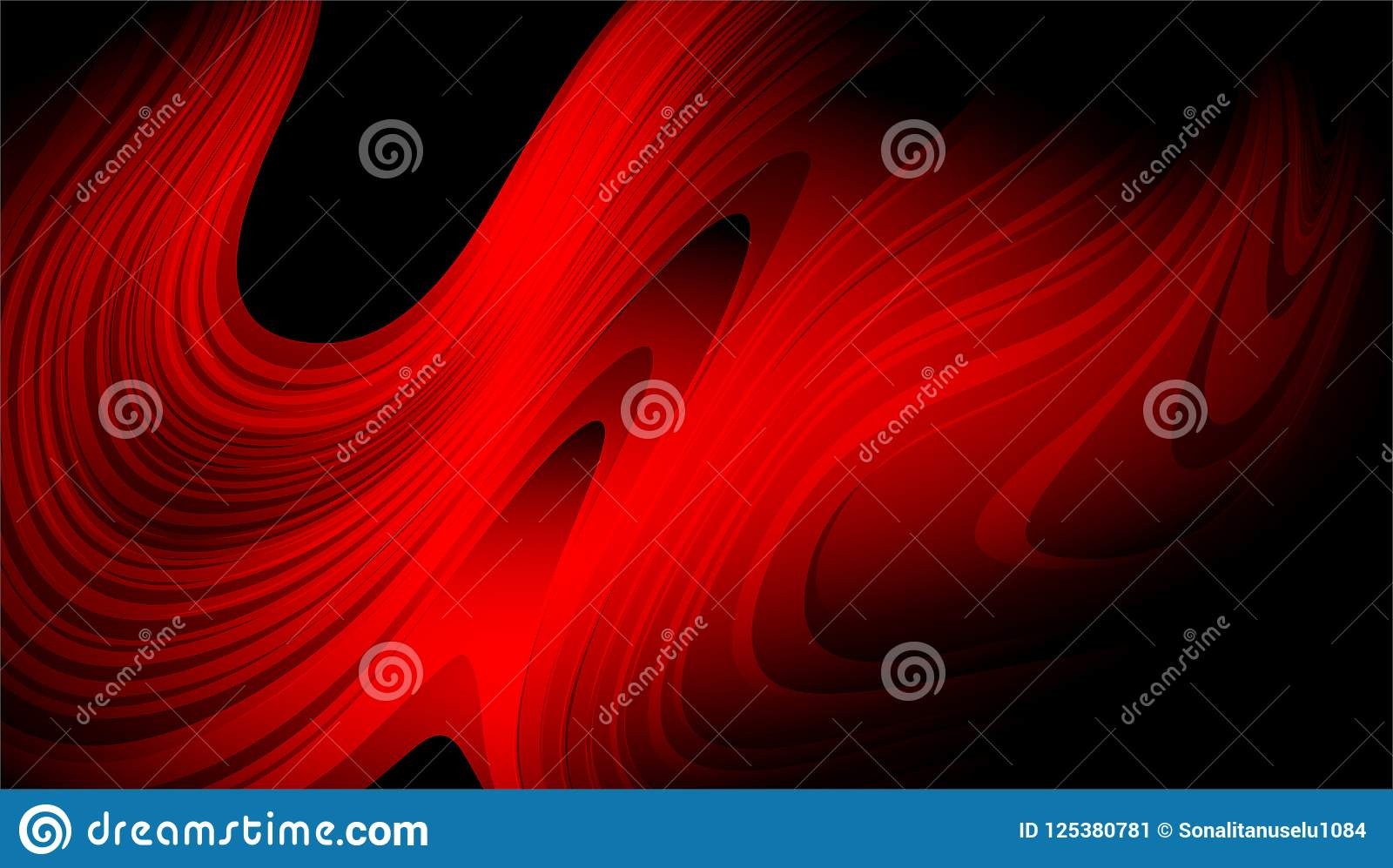 Download Red And Black Abstract Vector Shaded Background Wallpaper Illustration Stock