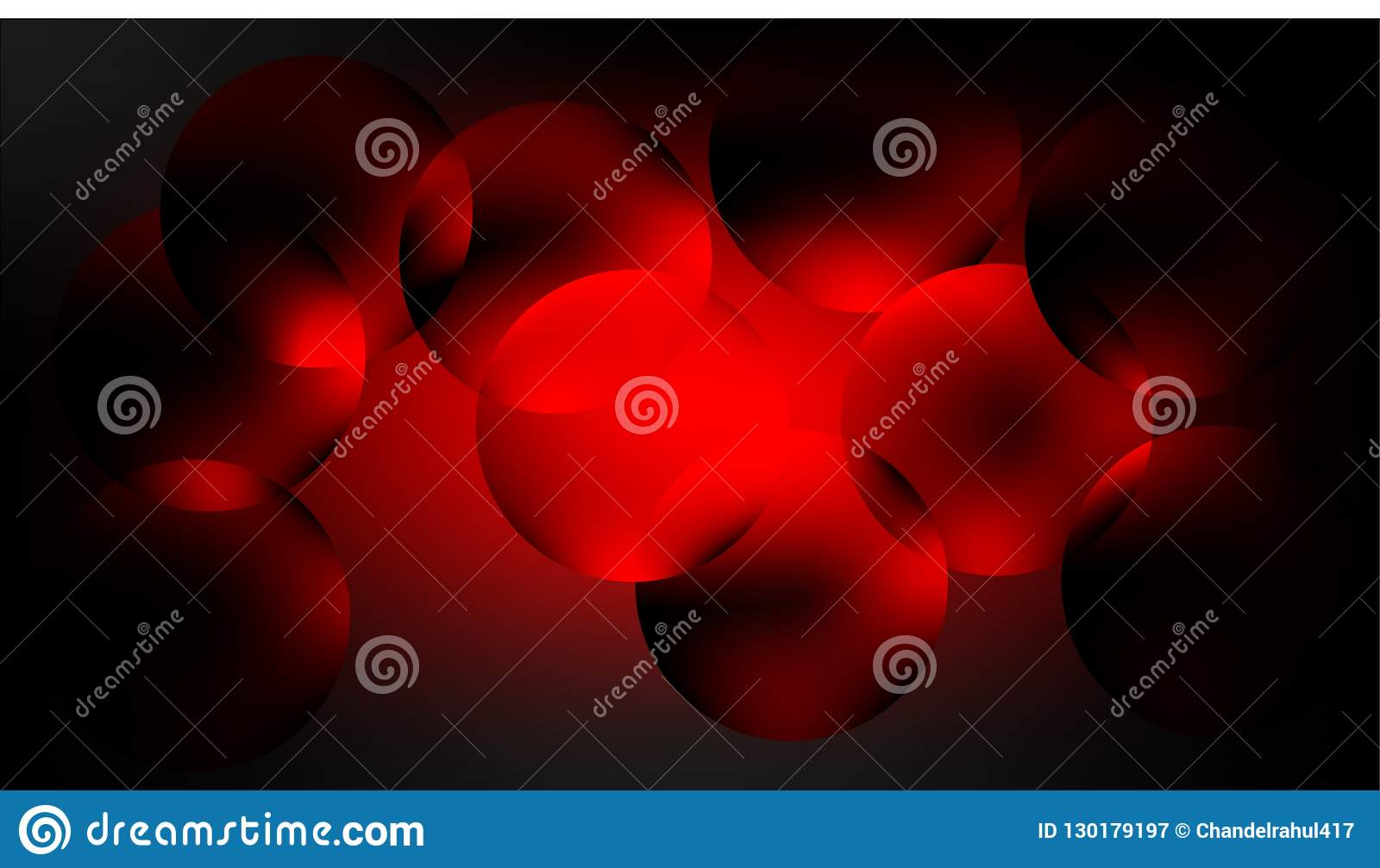 Red And Black Red Background Stock Illustration
