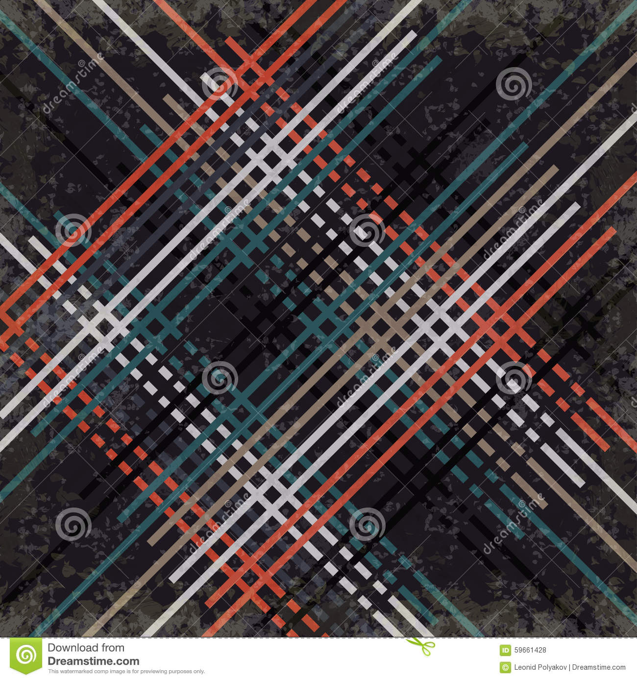 red black blue and gray lines on a dark background vector