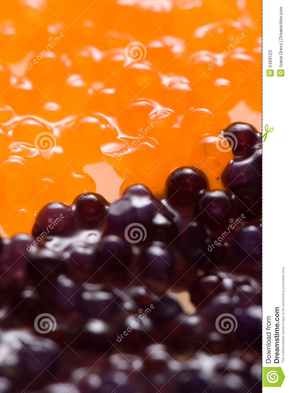 Red and Black Caviar background