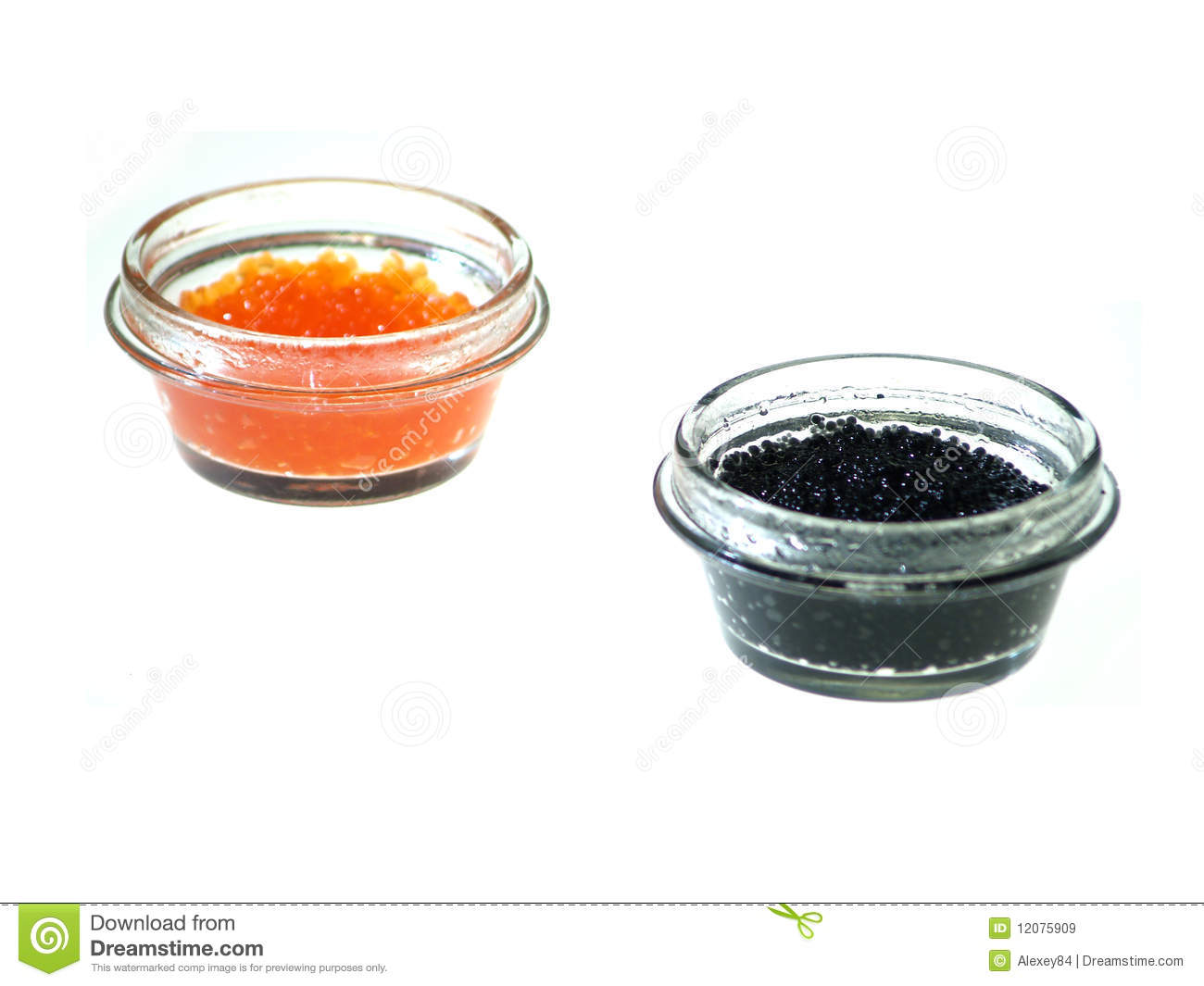 Red and black fish caviar stock image image of dish for Black caviar fish