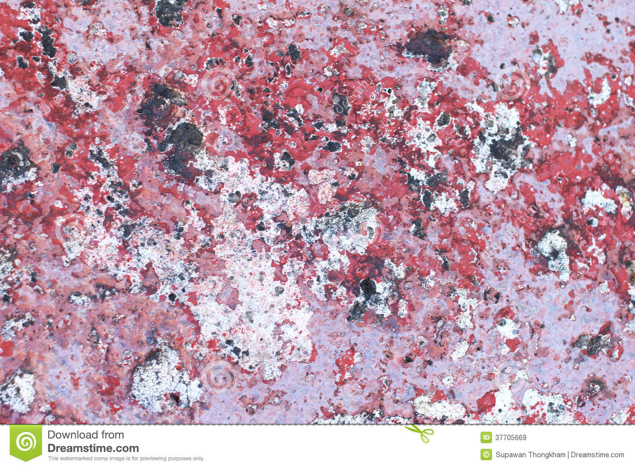 Red And Black Marble Floor Royalty Free Stock Images