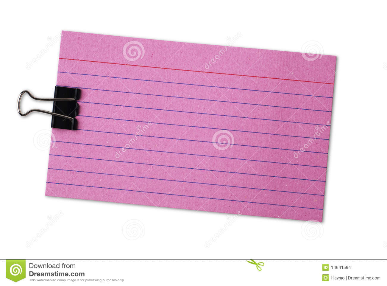 Blank Index Card Red blank index cards with