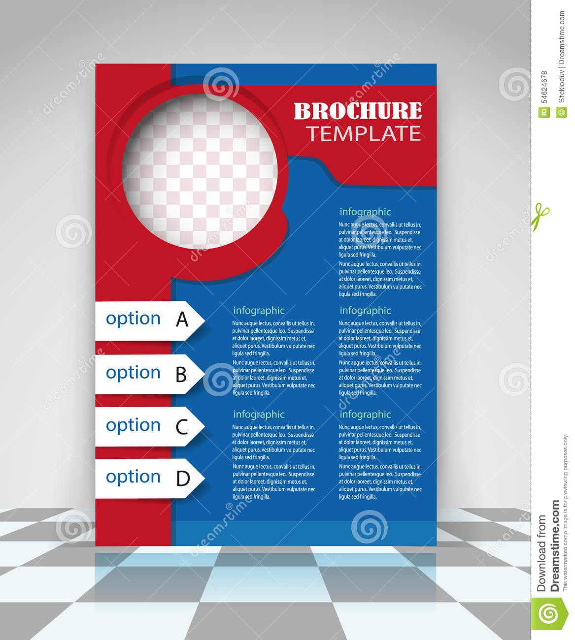 flyer examples for business flyer design business stock vector ...