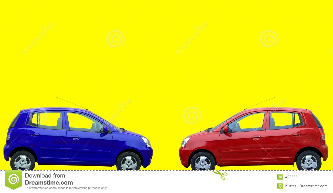red and blue cars stock photo image of transport bright 426656. Black Bedroom Furniture Sets. Home Design Ideas