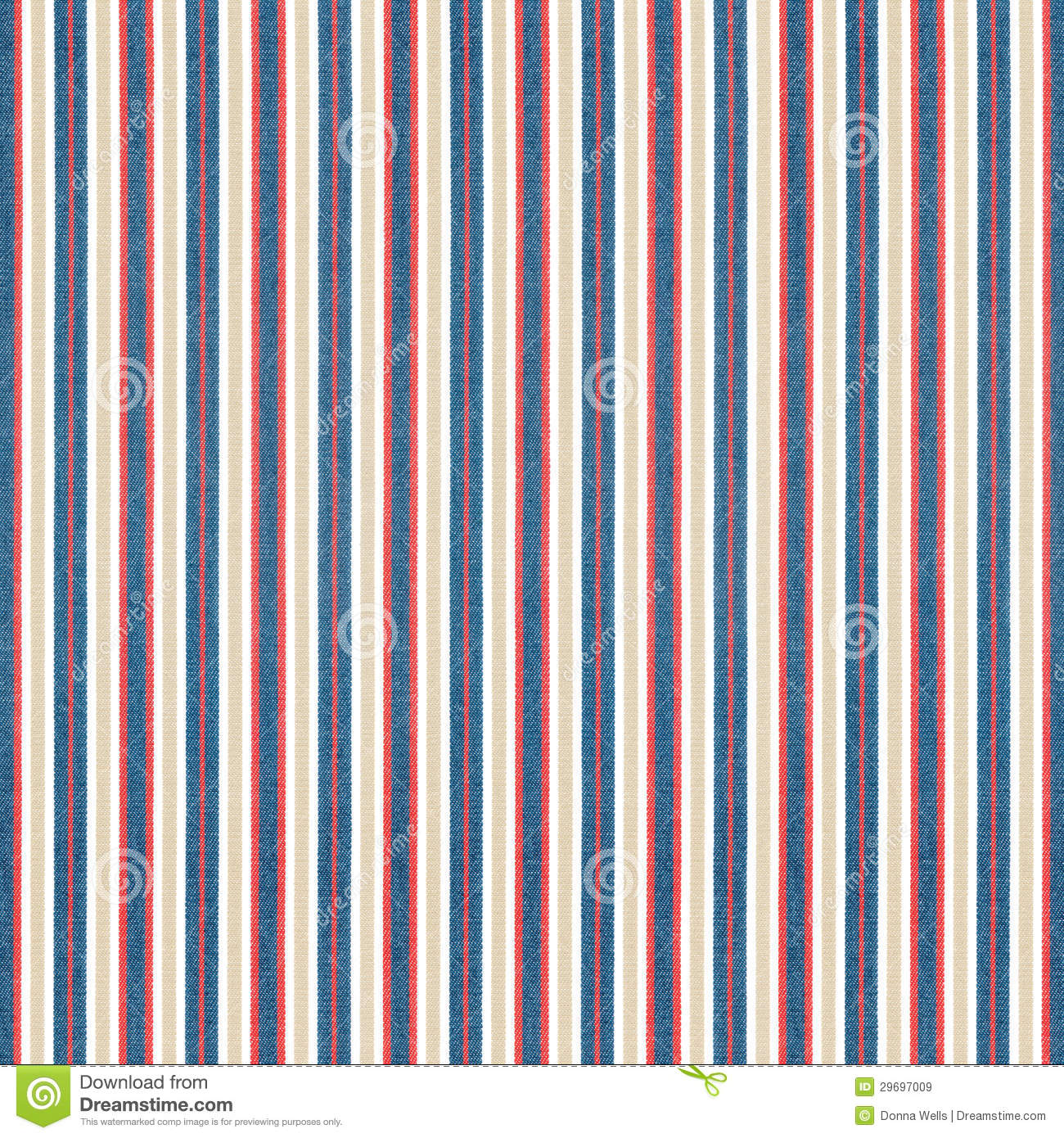 Red Blue Tan Striped Fabric Royalty Free Stock Images - Image ...