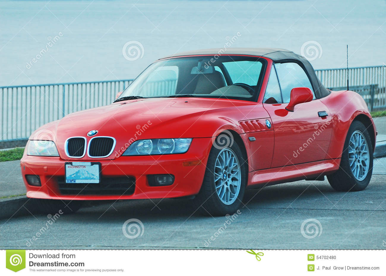 Red BMW Sportscar