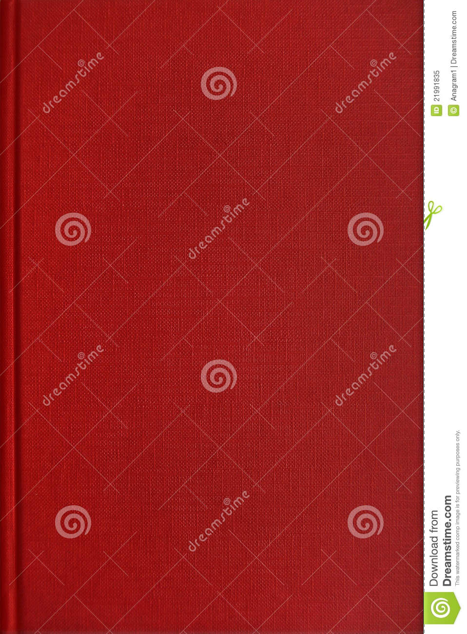 Cookbook With Red Cover : Red book cover royalty free stock photo image